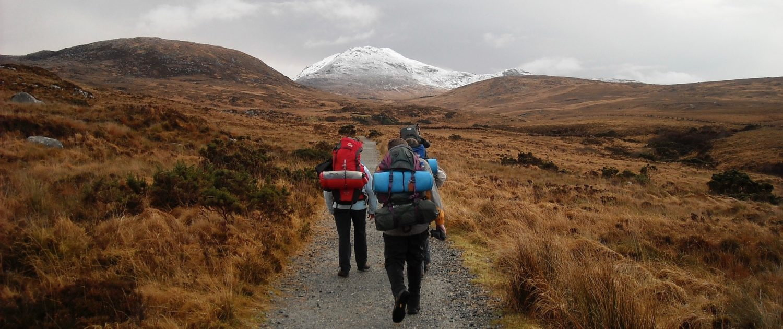 Backpackers in Ireland
