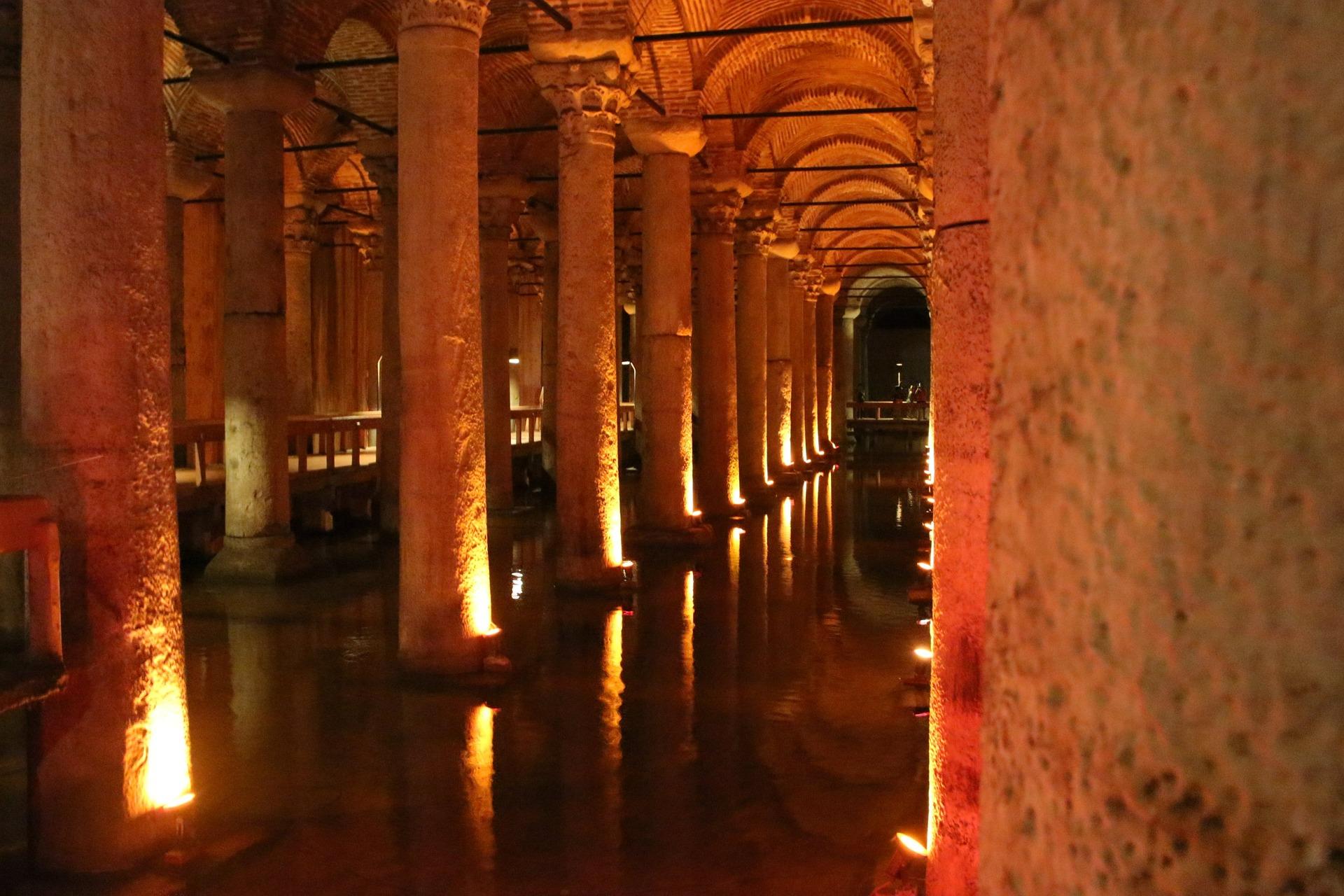 Basilica Cistern (a.k.a. the Sunken Palace), Istanbul, Turkey