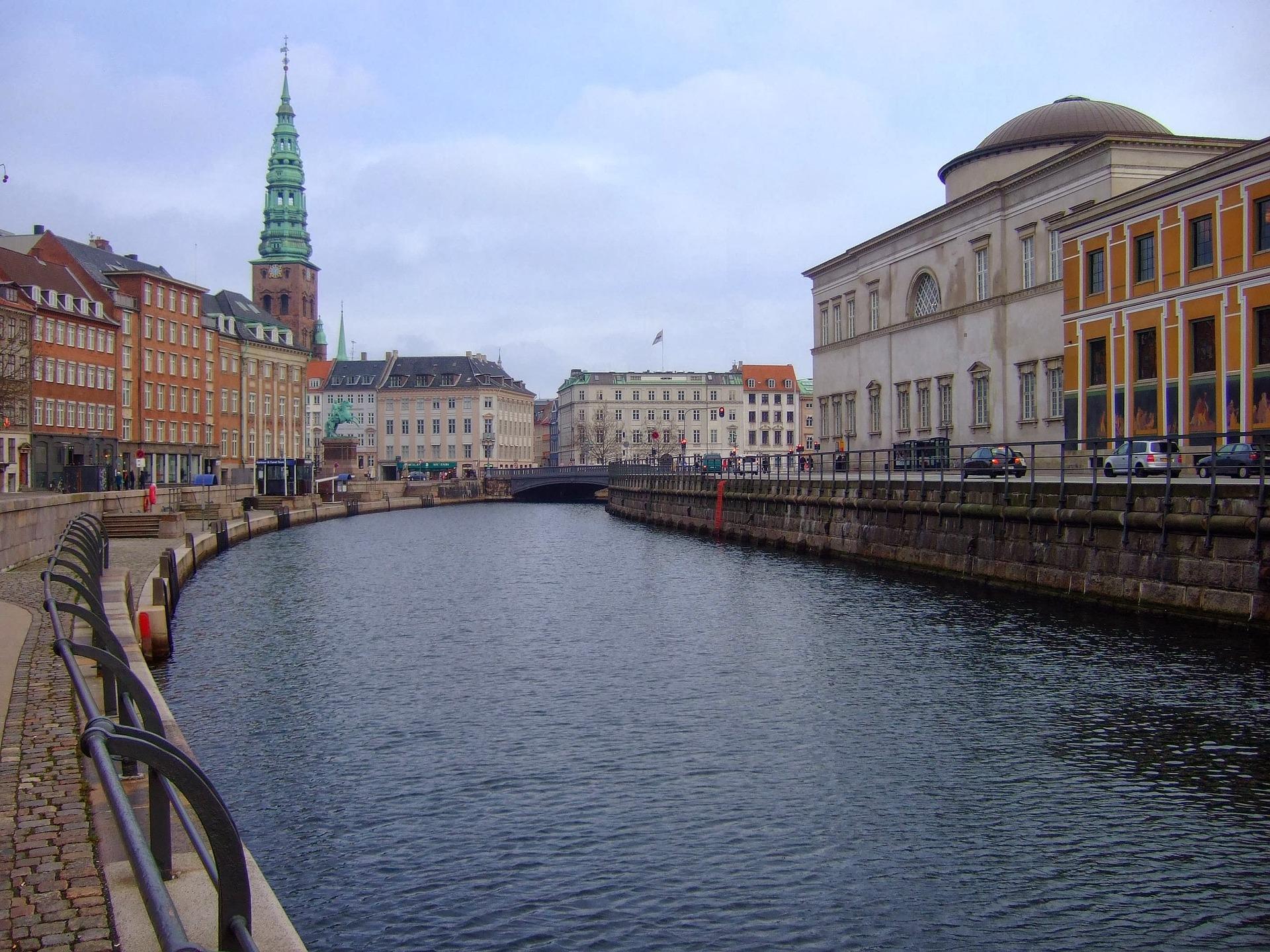 Canal in Nyhavn, Copenhagen, Denmark
