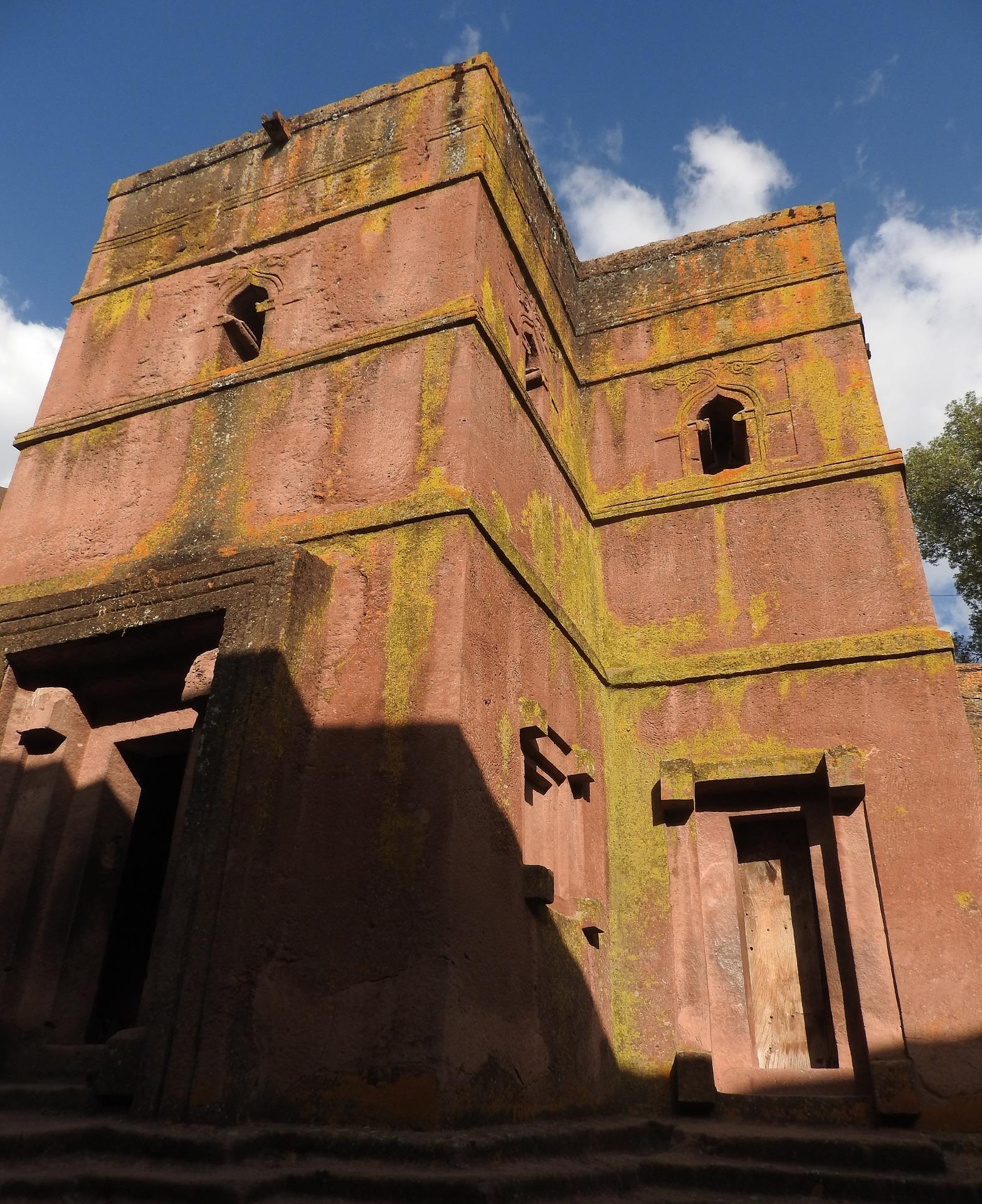 Church of Saint George in Lalibela, Ethiopia