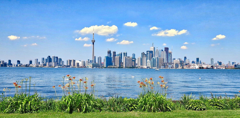 City view of Toronto, Canada