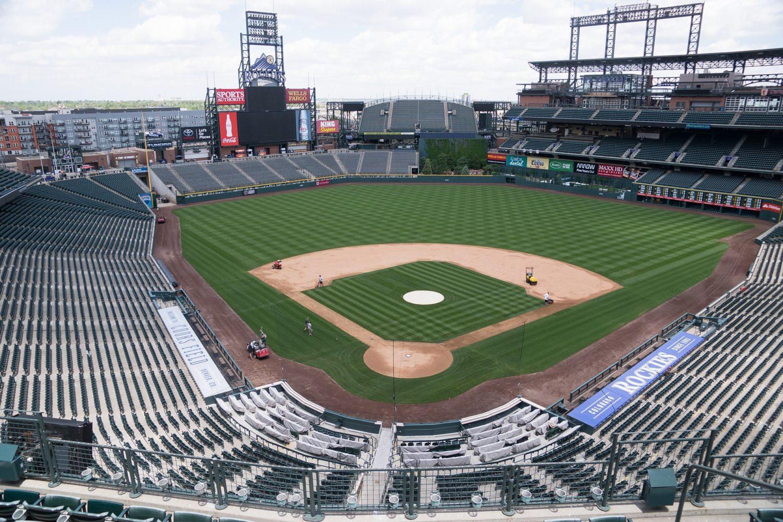 Coors Field baseball stadium, Denver, Colorado
