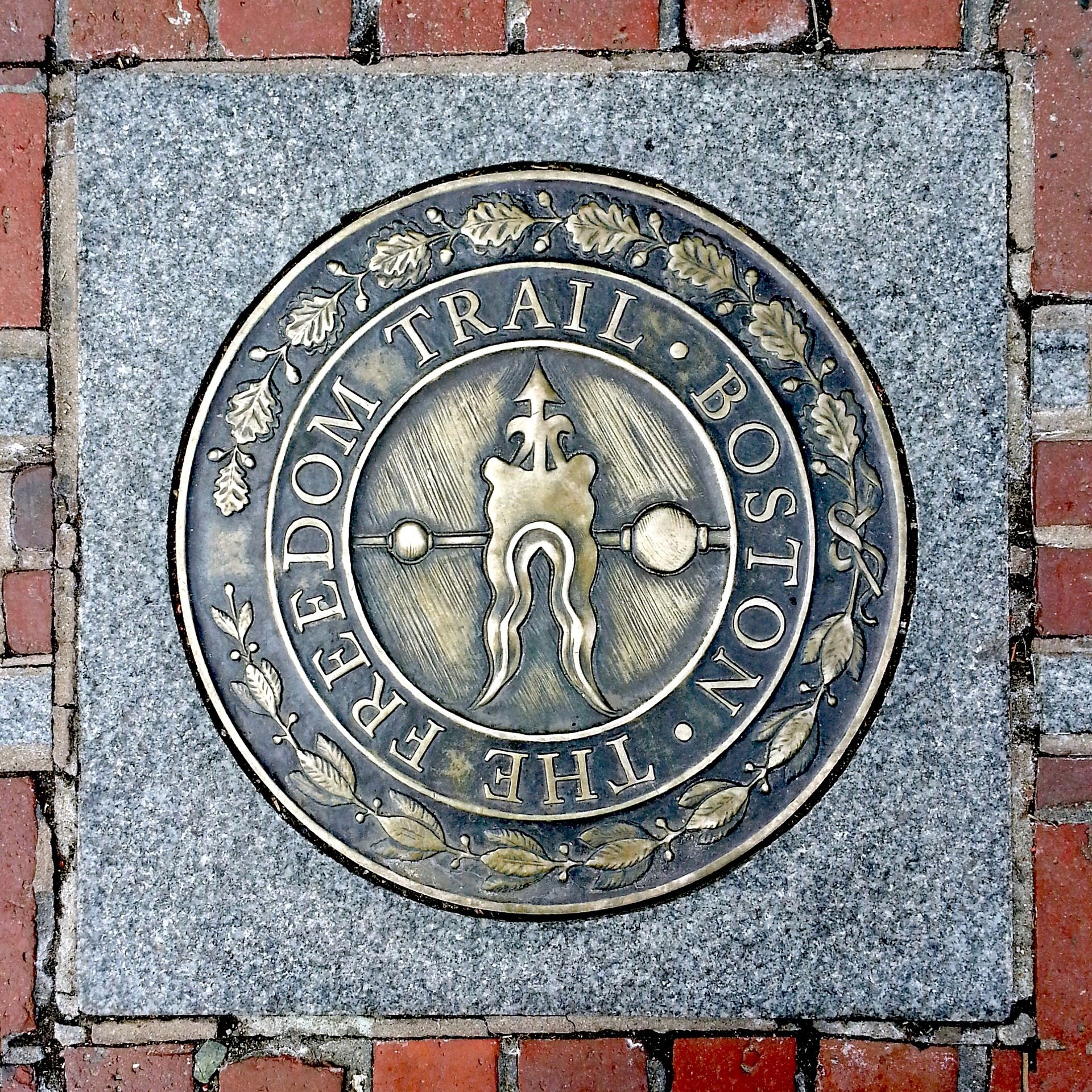 Freedom Trail in Boston, Massachusetts