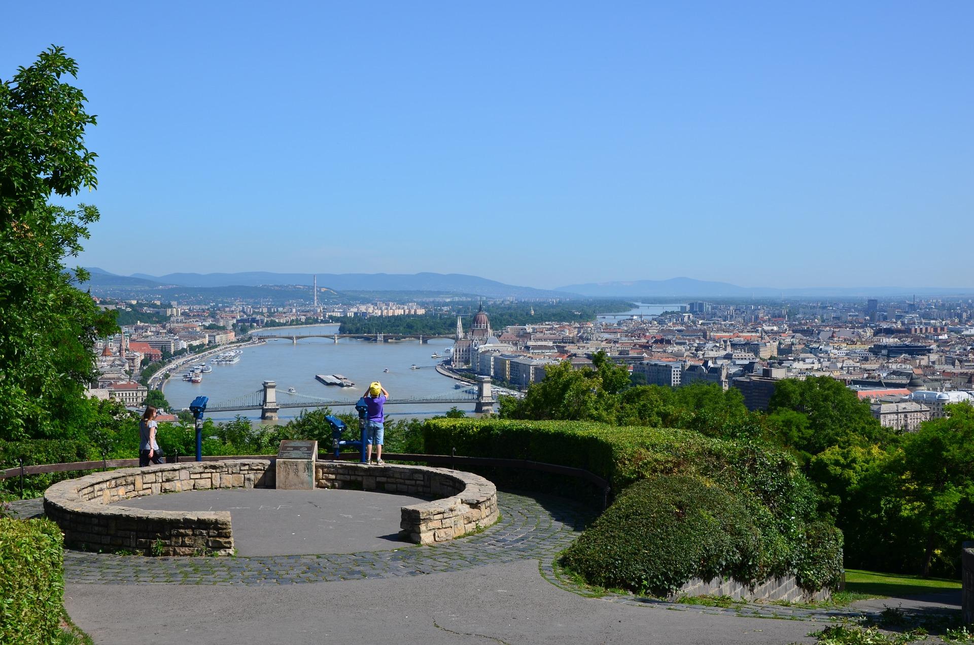 Gellért Hill, Budapest, Hungary