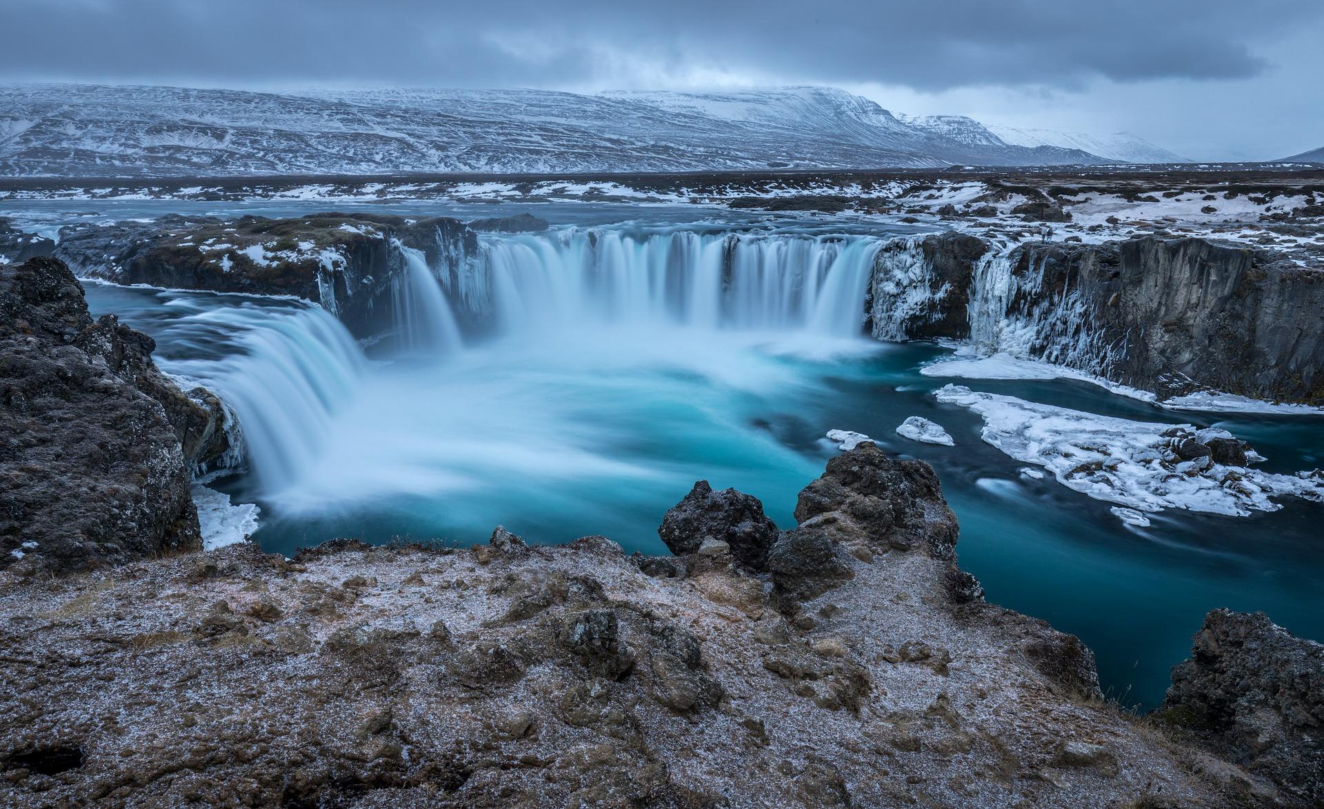 Godafoss,Waterfall Iceland