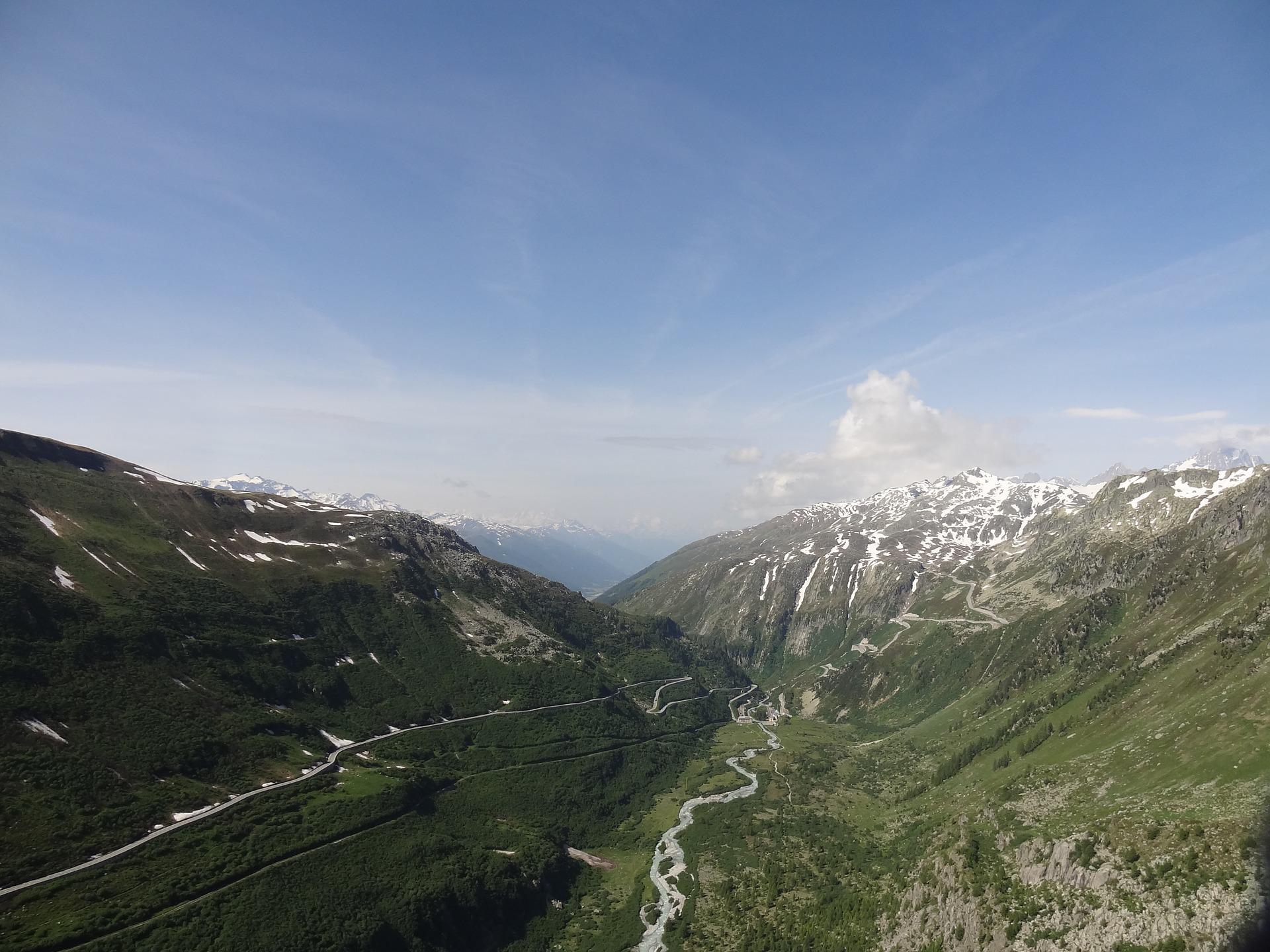 Grimsel Pass, Swiss Alps, Switzerland