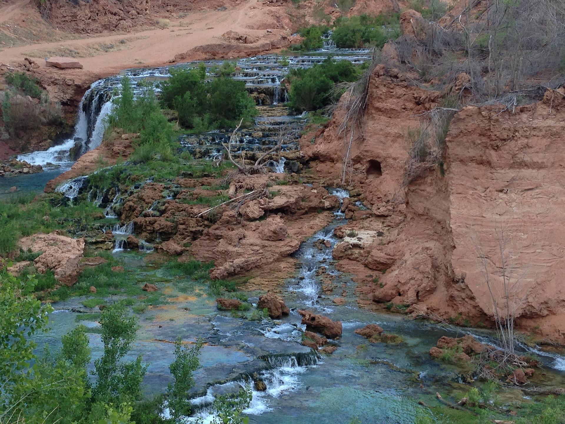 Havasu Falls, Havasu Creek, Arizona, USA
