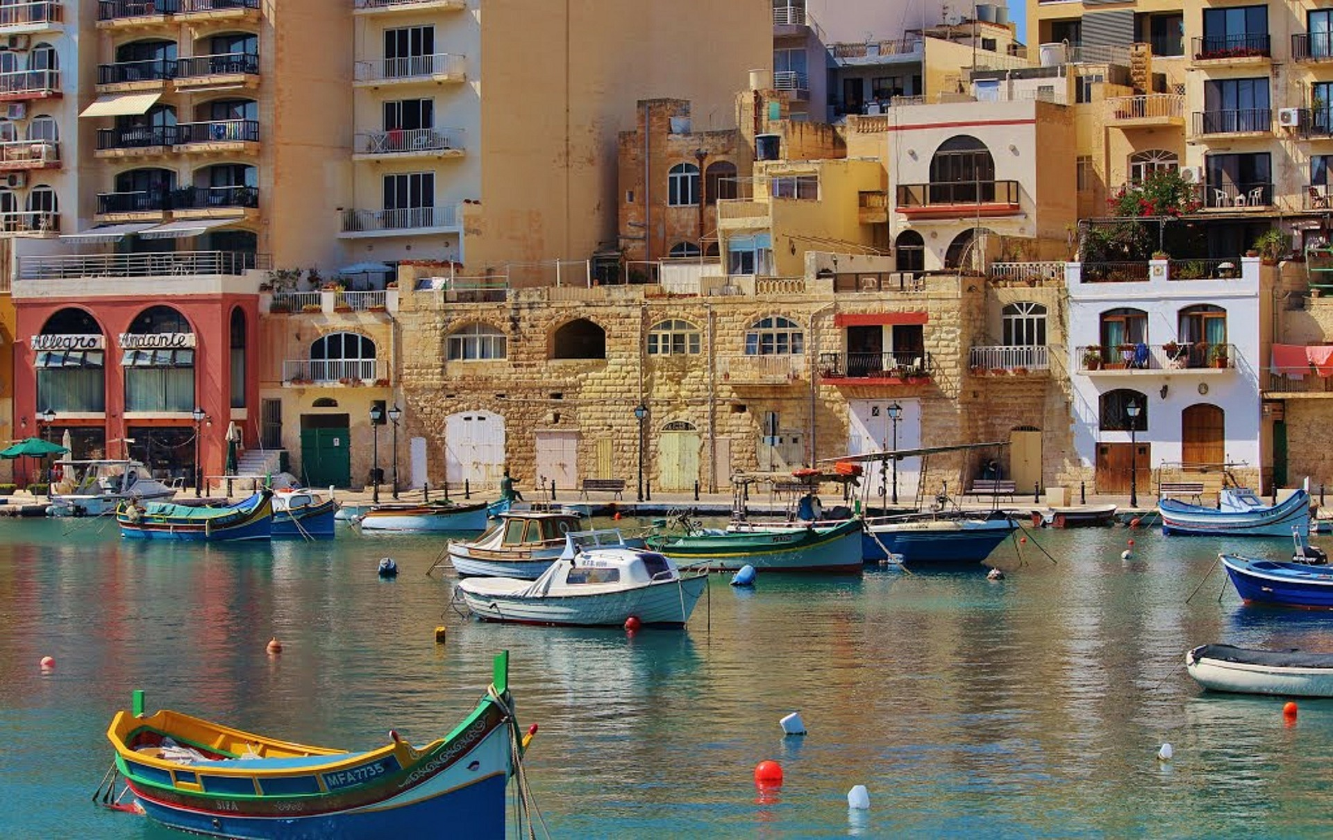 Pier in Malta