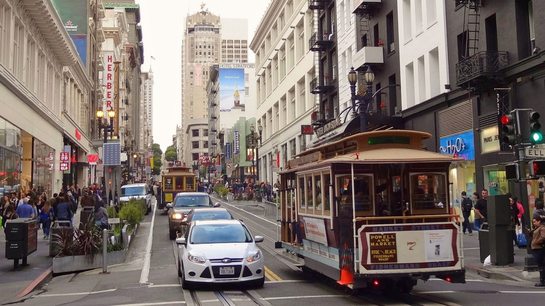 San Francisco tram car