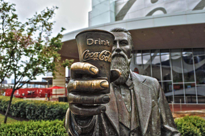 Sculpture at World of Coca-Cola museum, Atlanta