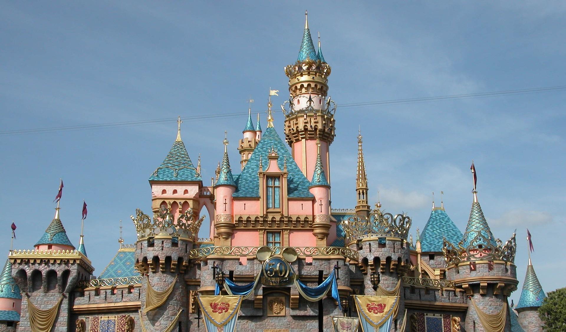 Sleeping Beauty Castle, Disneyland, Anaheim, California