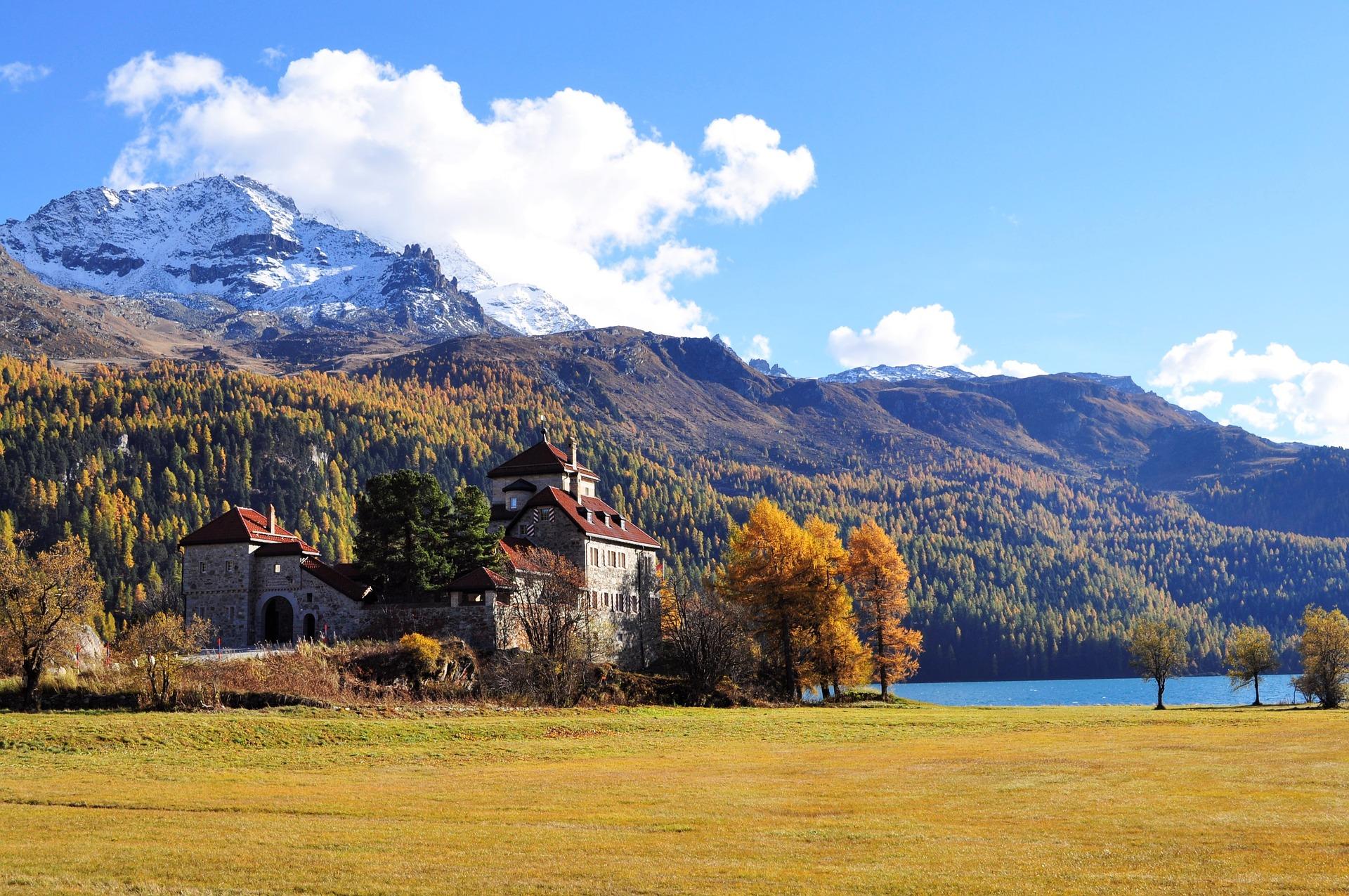 St. Moritz, Village in Switzerland