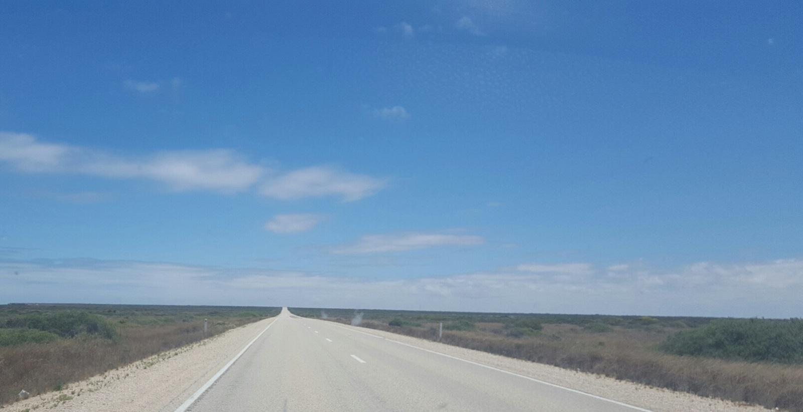 The Eyre Highway, Australia