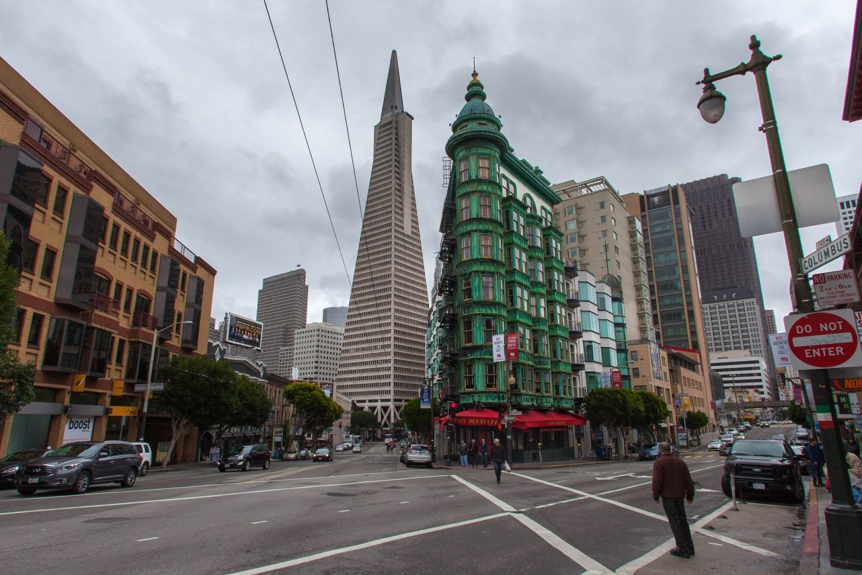 Transamerica Pyramid, San Francisco, California, USA