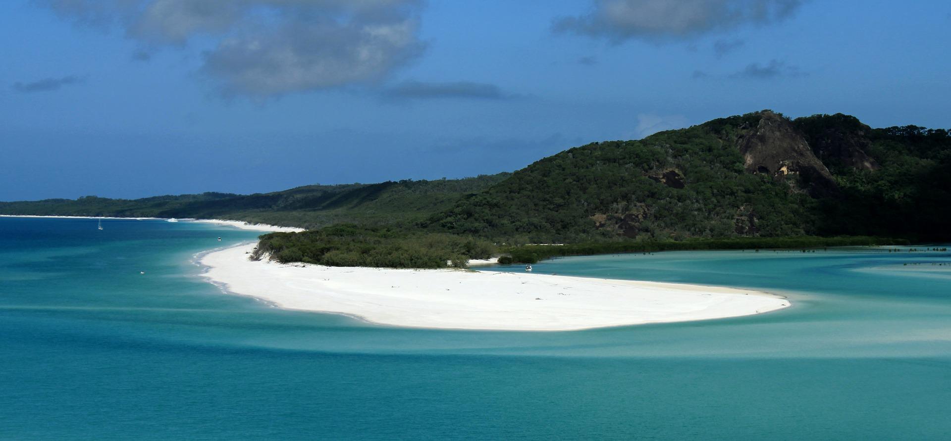 White sand beach, East Coast, Australia