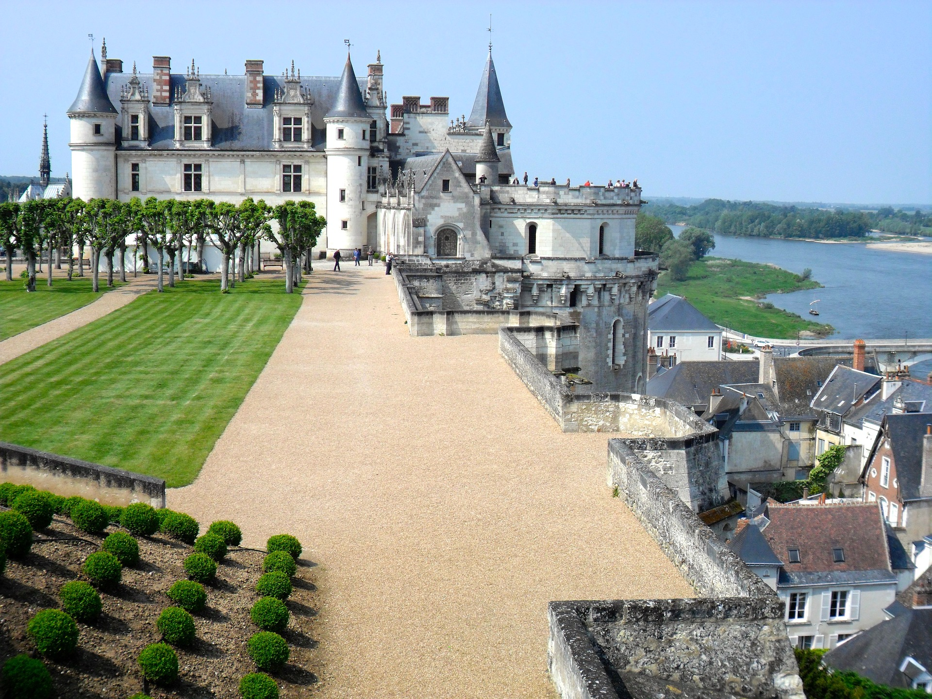 Chateau in Loire Valley, France