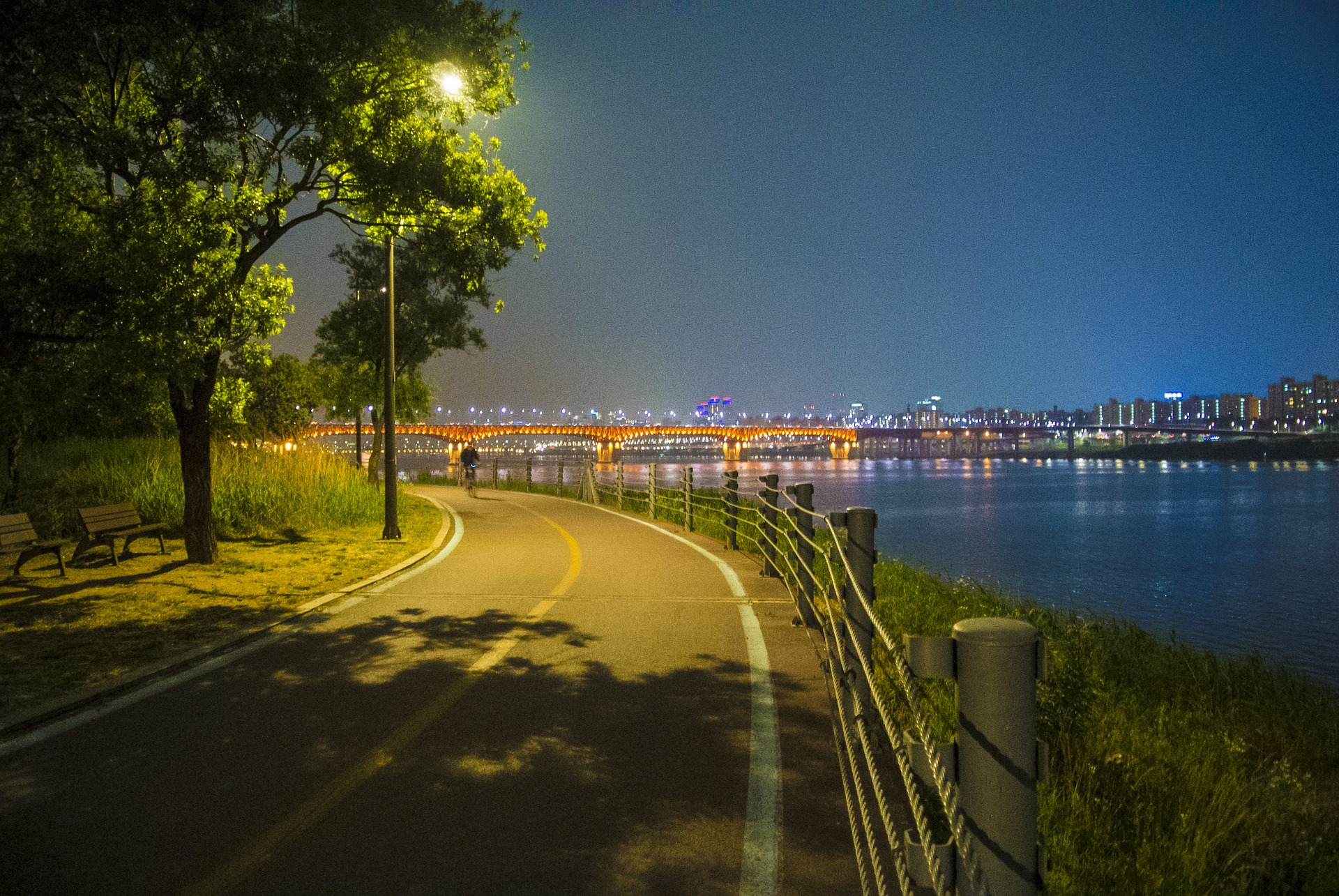 Han River, Seoul, South Korea