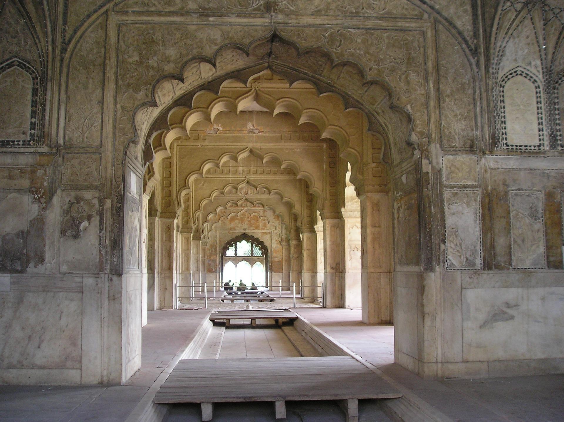 Inside The Red Fort, Delhi, India
