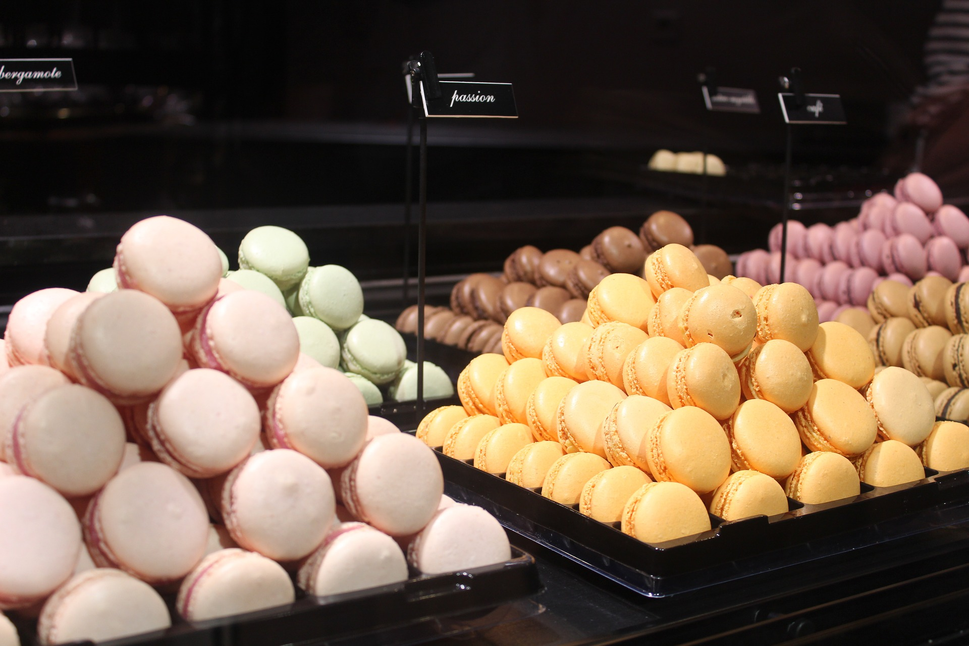 Macaroons in Paris, France