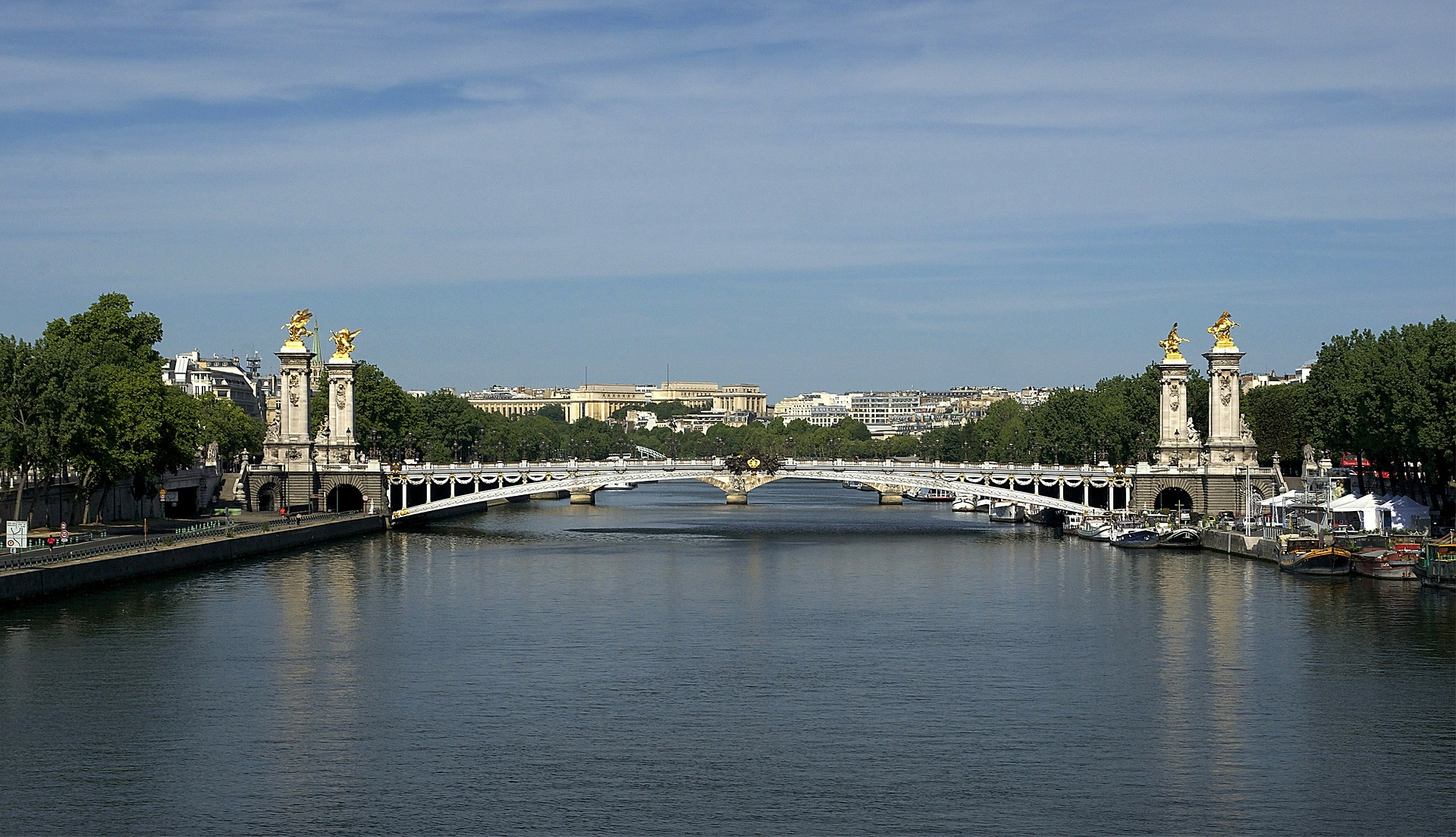 Pont Alexandre III bridge, Paris, France