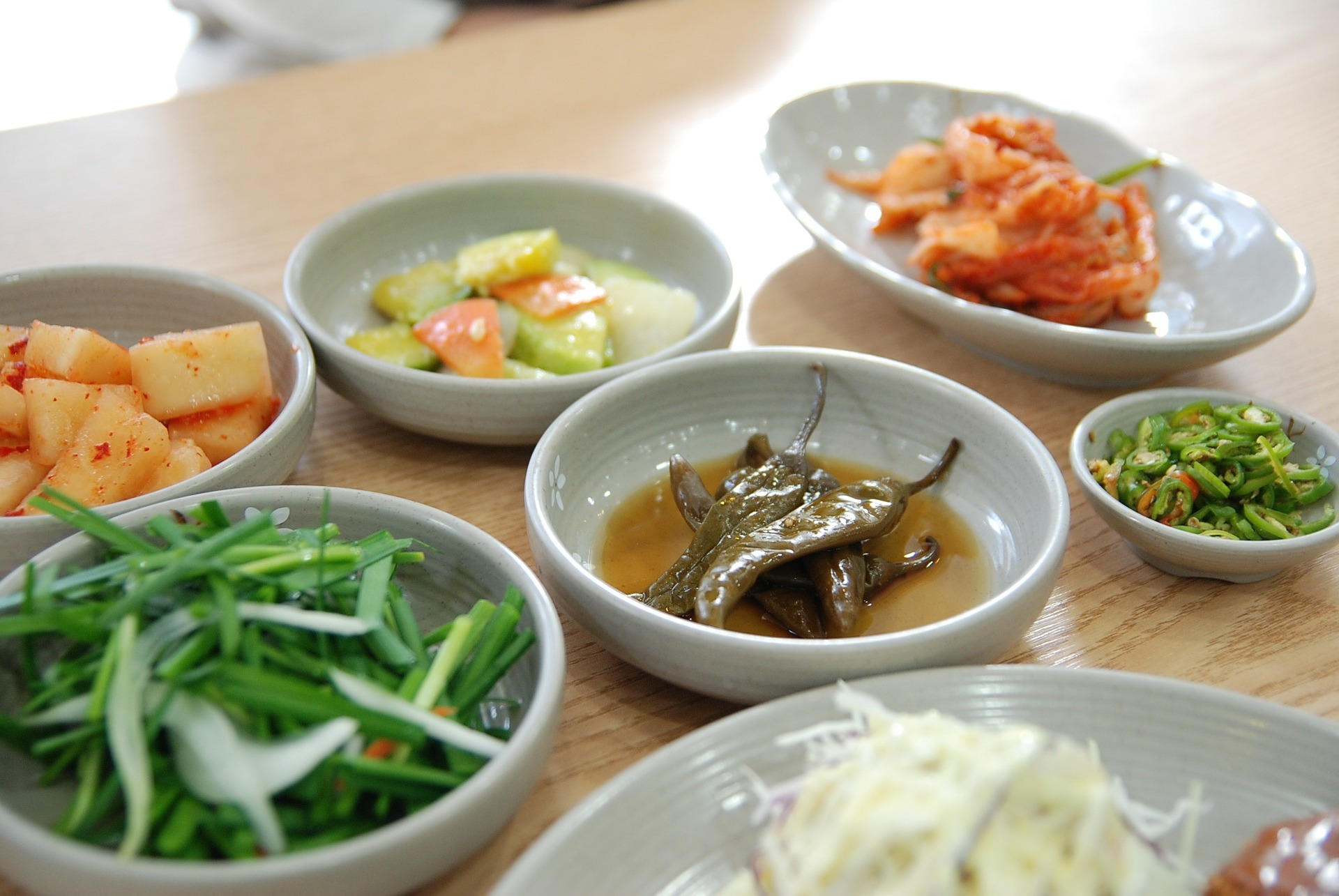 South Korean cuisine in Seoul, South Korea