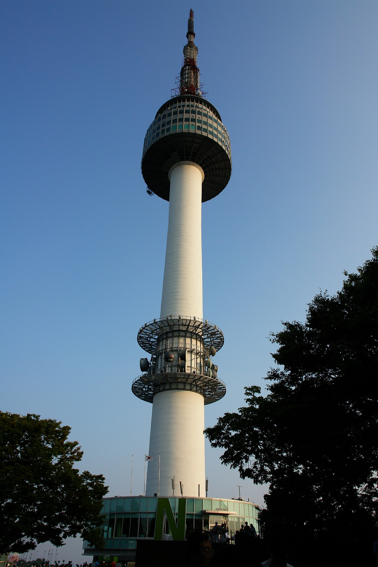 The N Seoul Tower (Namsan Tower), Seoul, South Korea