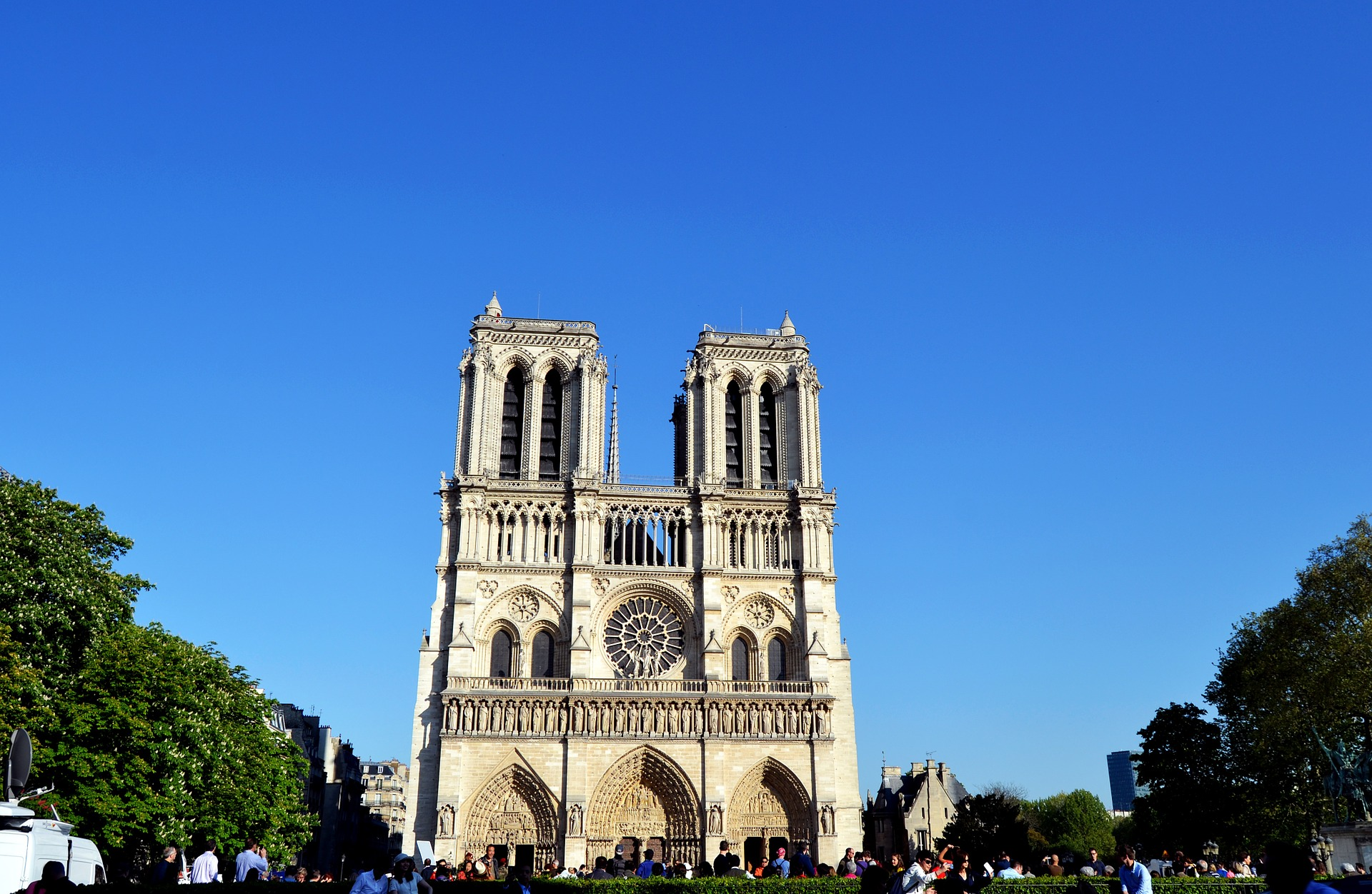 The Notre-Dame de Paris, France