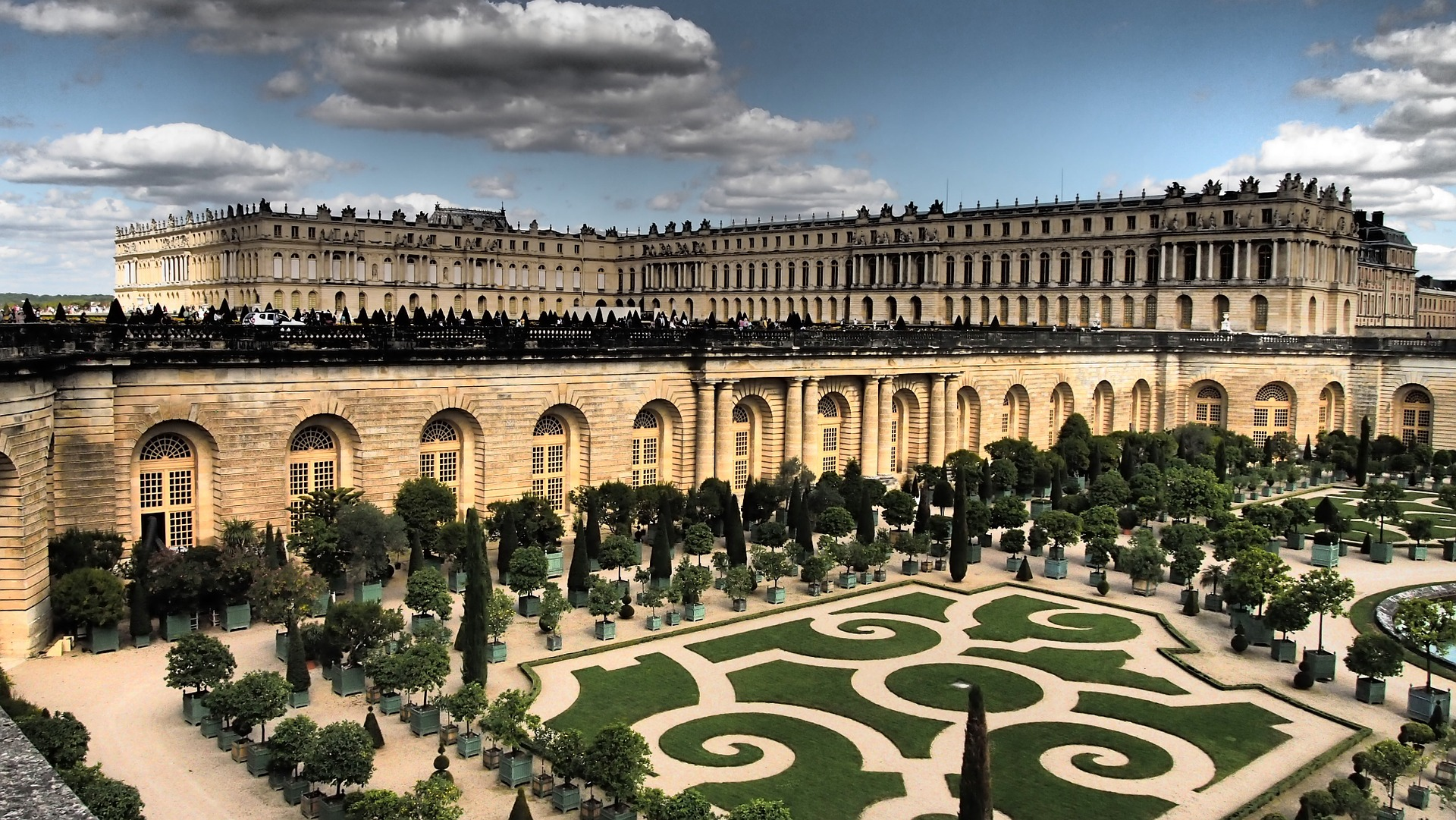 The Palace and Park of Versailles, Paris, France