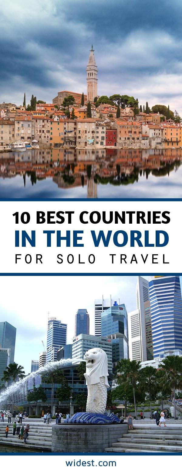 10 Best Countries in the World for Solo Travel