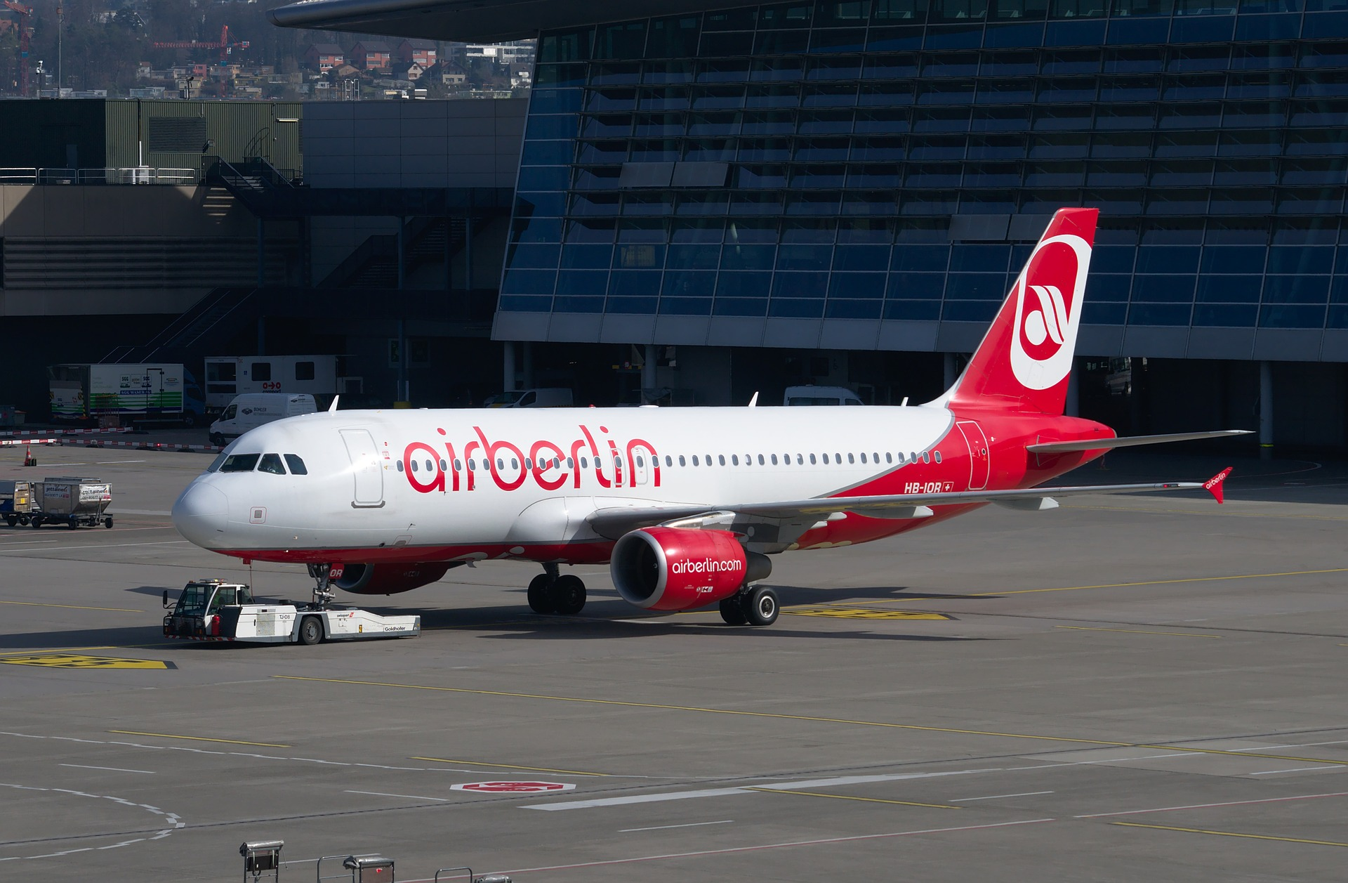Air Berlin Airbus A320 airfraft
