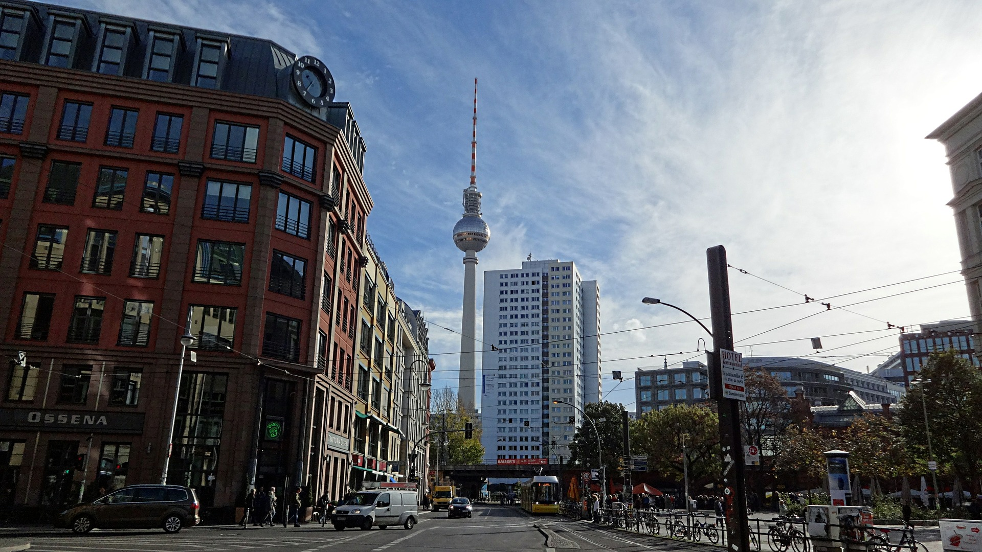 Alexanderplatz, plaza in Berlin, Germany