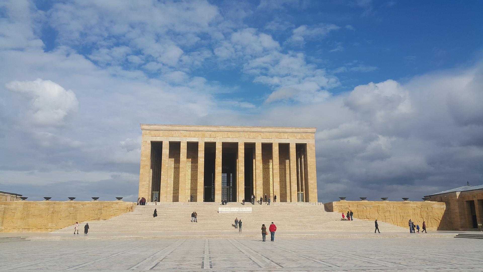 Anıtkabir in Ankara, Turkey