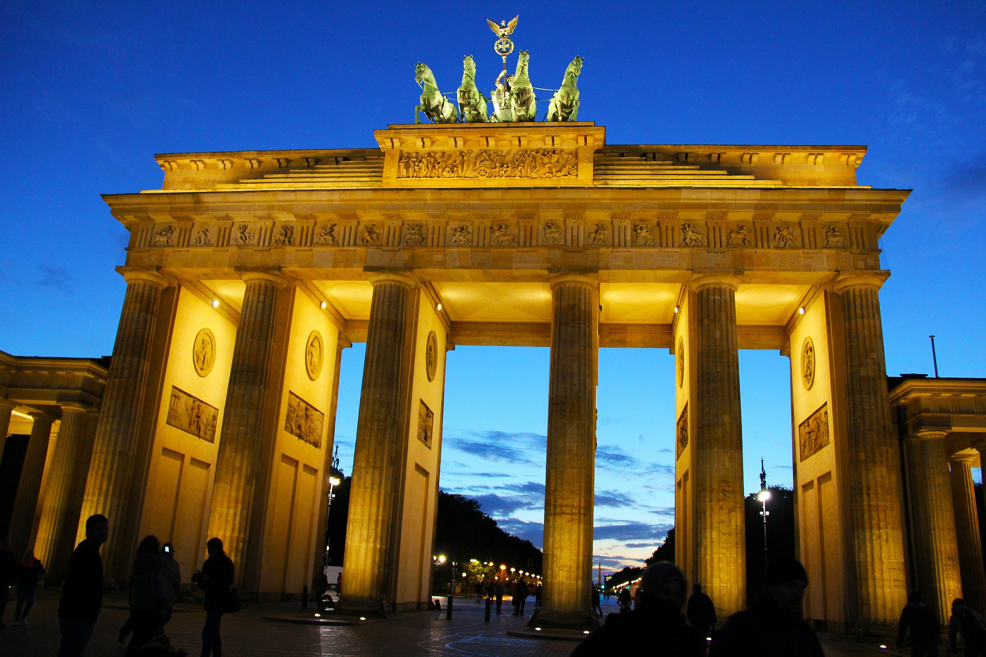 Brandenburg Gate, Historical place in Berlin, Germany