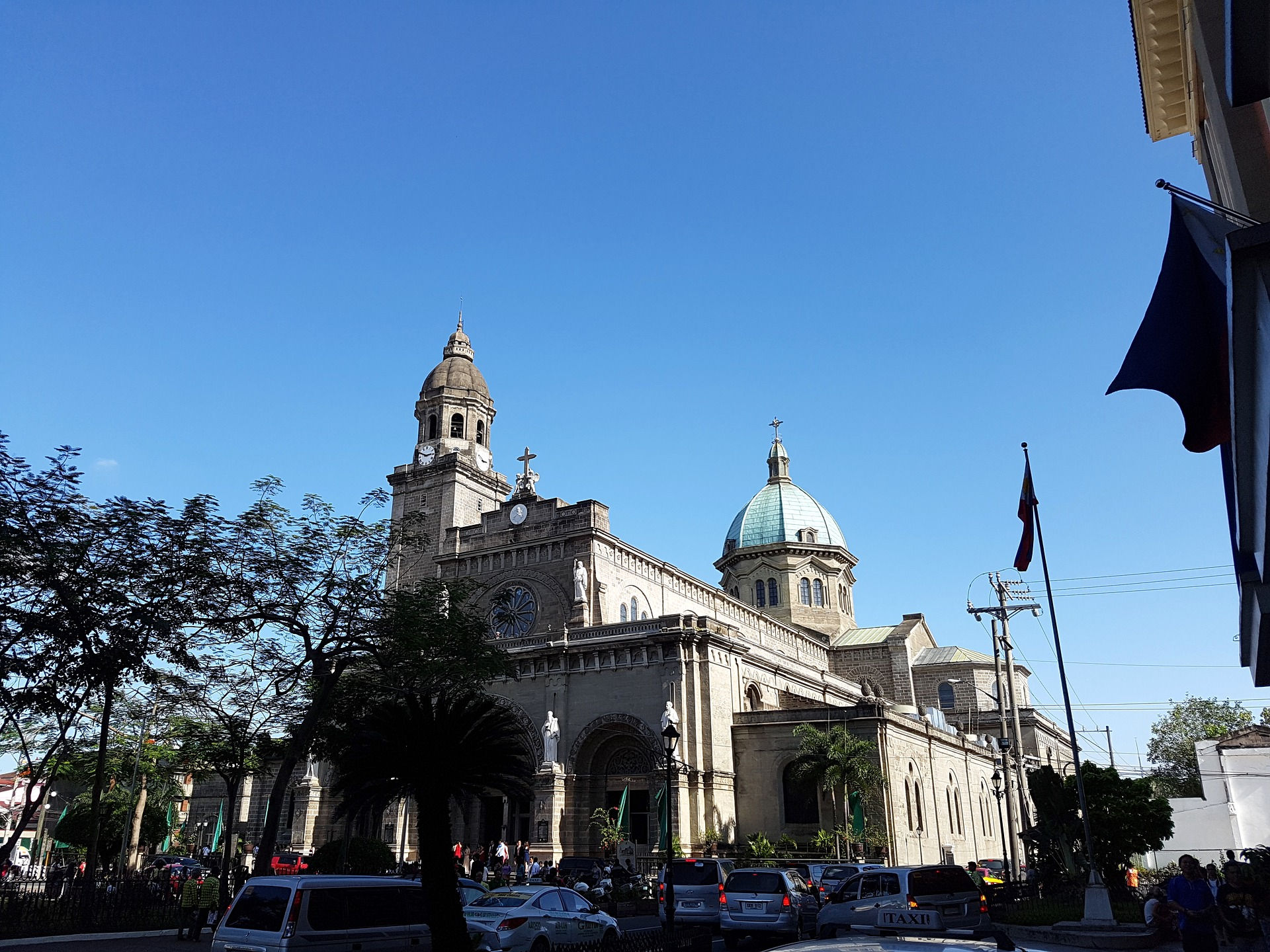 Cathedral in Manila Philippines
