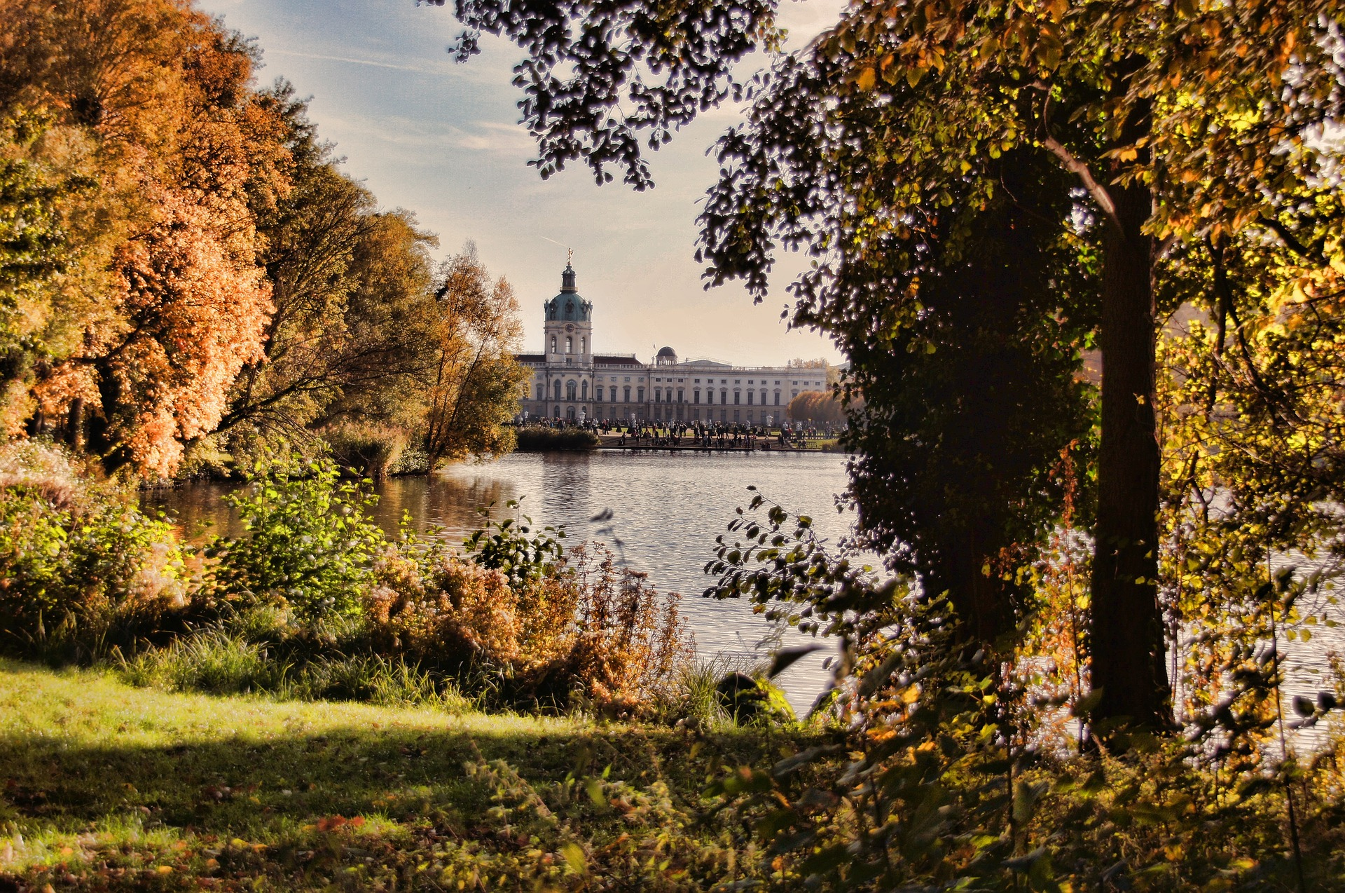 Charlottenburg Palace and Park, Berlin, Germany