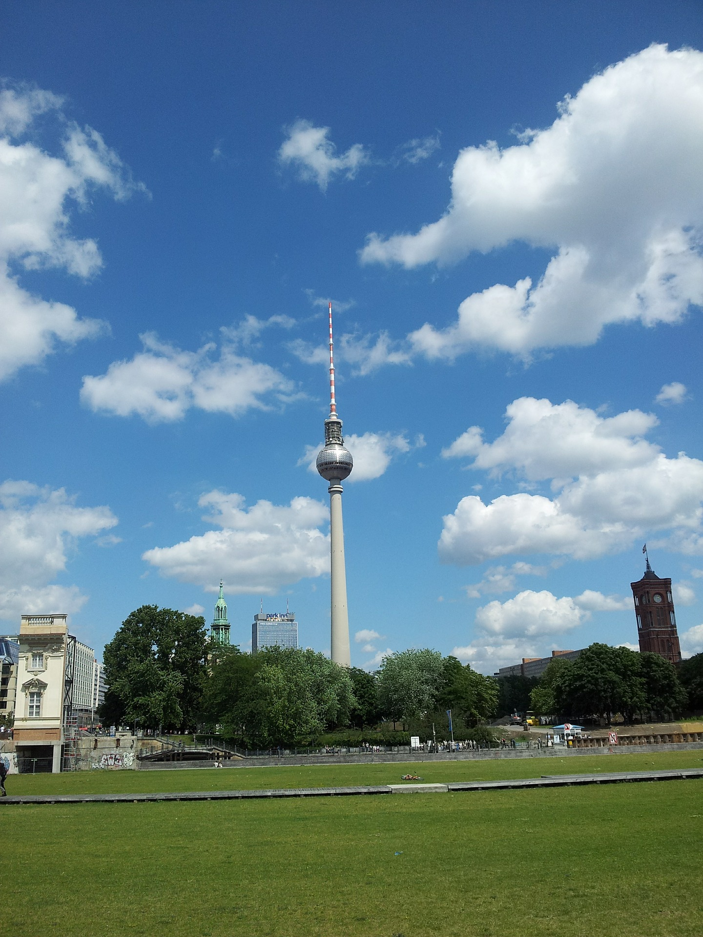 Fernsehturm tower, Berlin, Germany