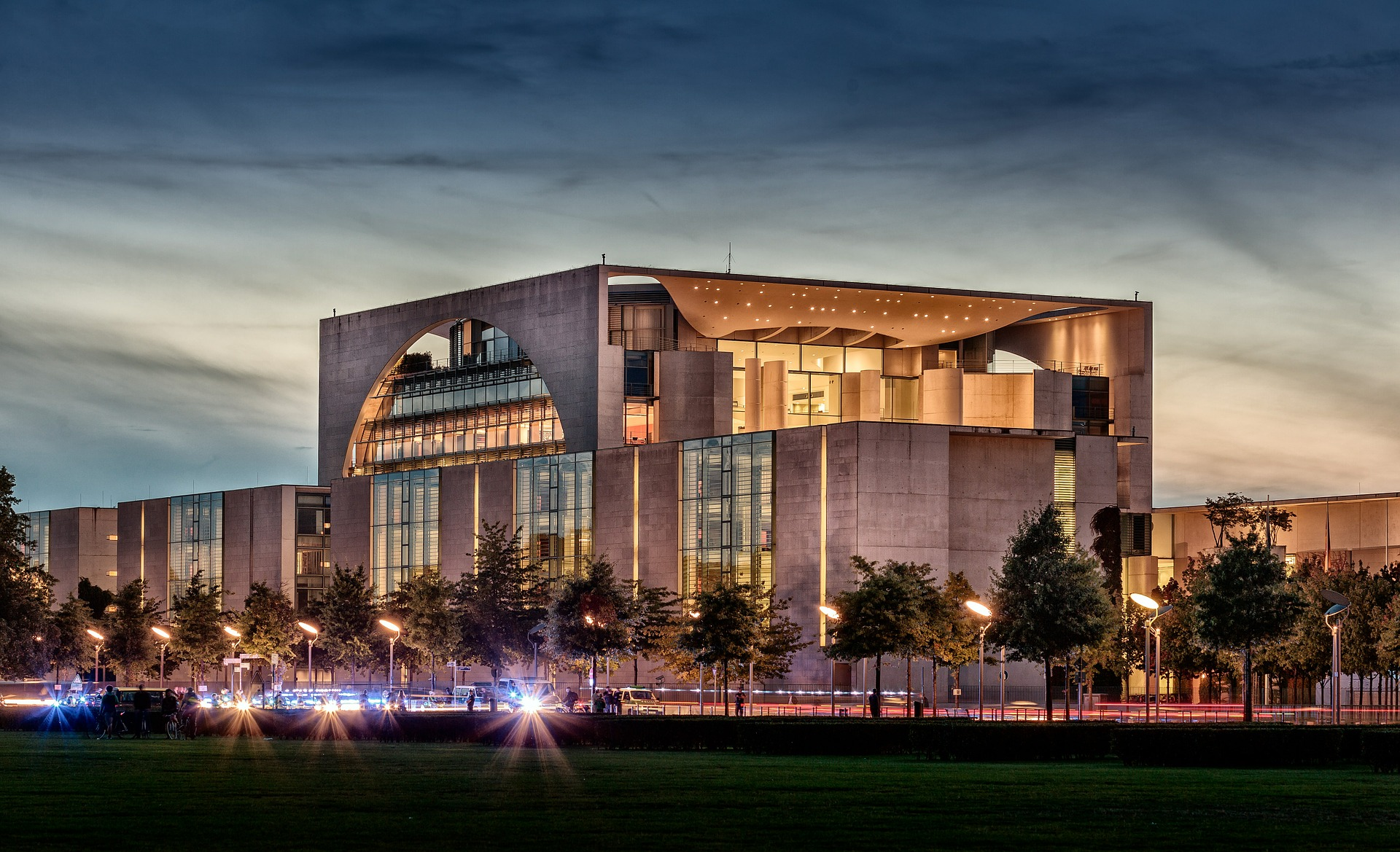 German Chancellery, Government office in Berlin, Germany