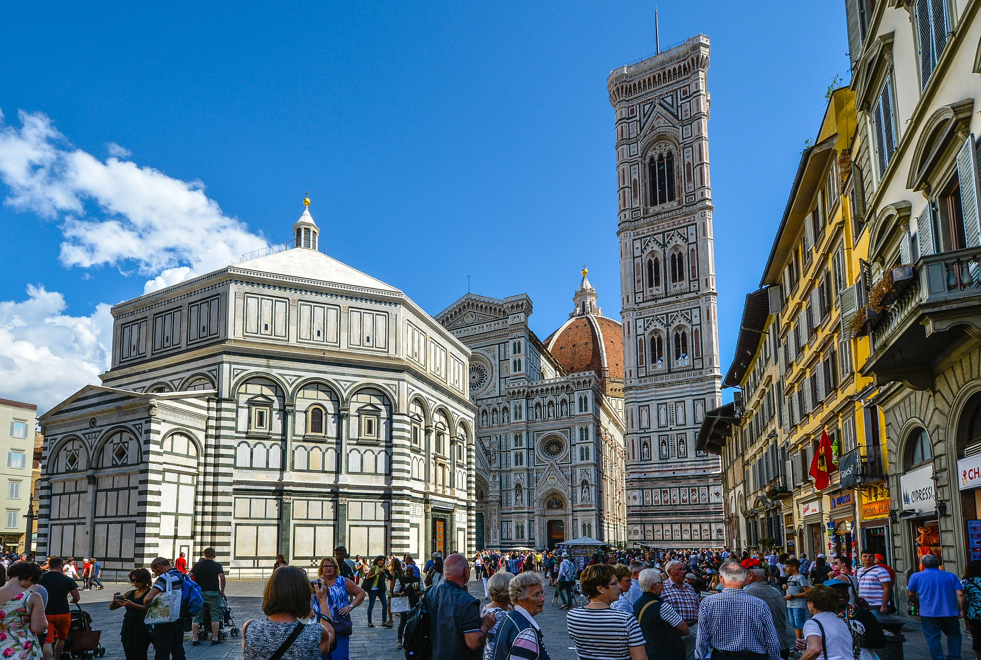 Giotto's Campanile (Bell Tower), Florence, Italy
