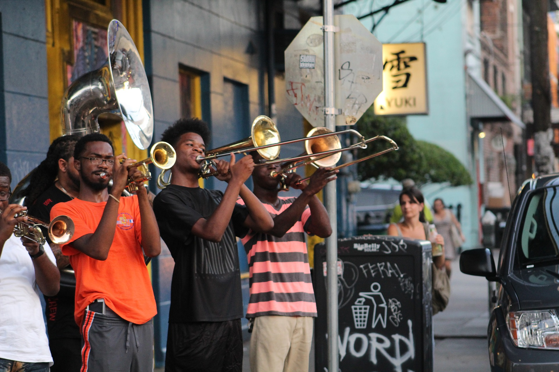 Live act, New Orleans