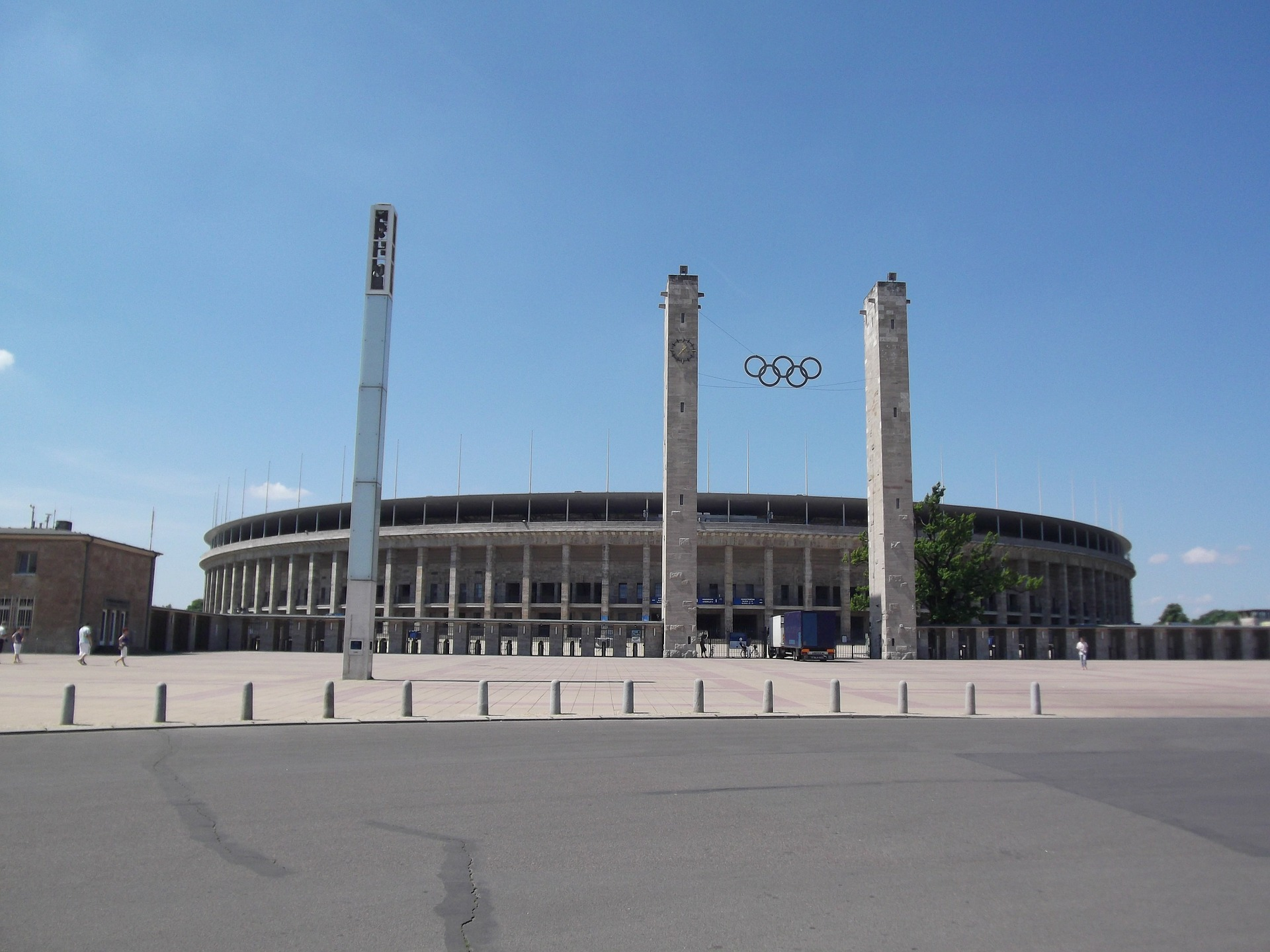Olympiastadion (olympic Stadium) Berlin, Germany