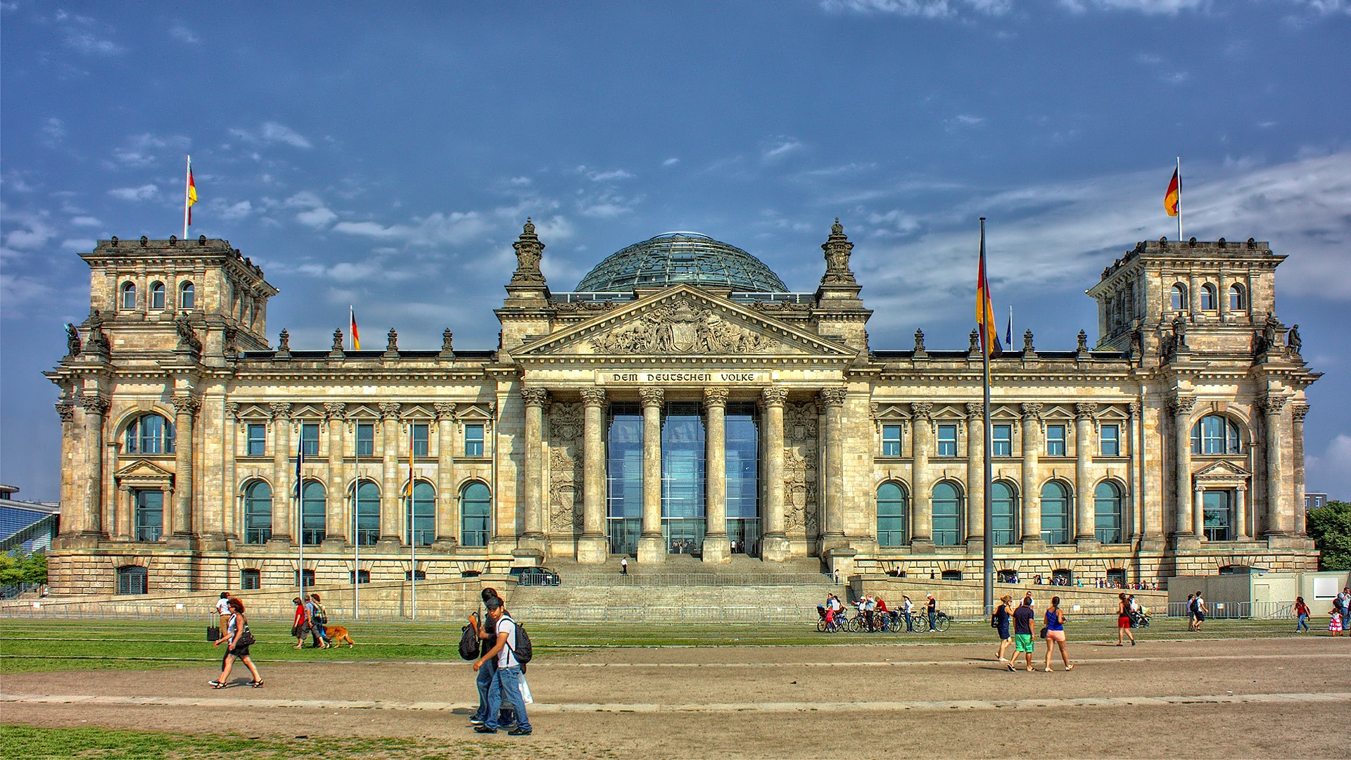 Reichstag, Edifice in Berlin, Germany