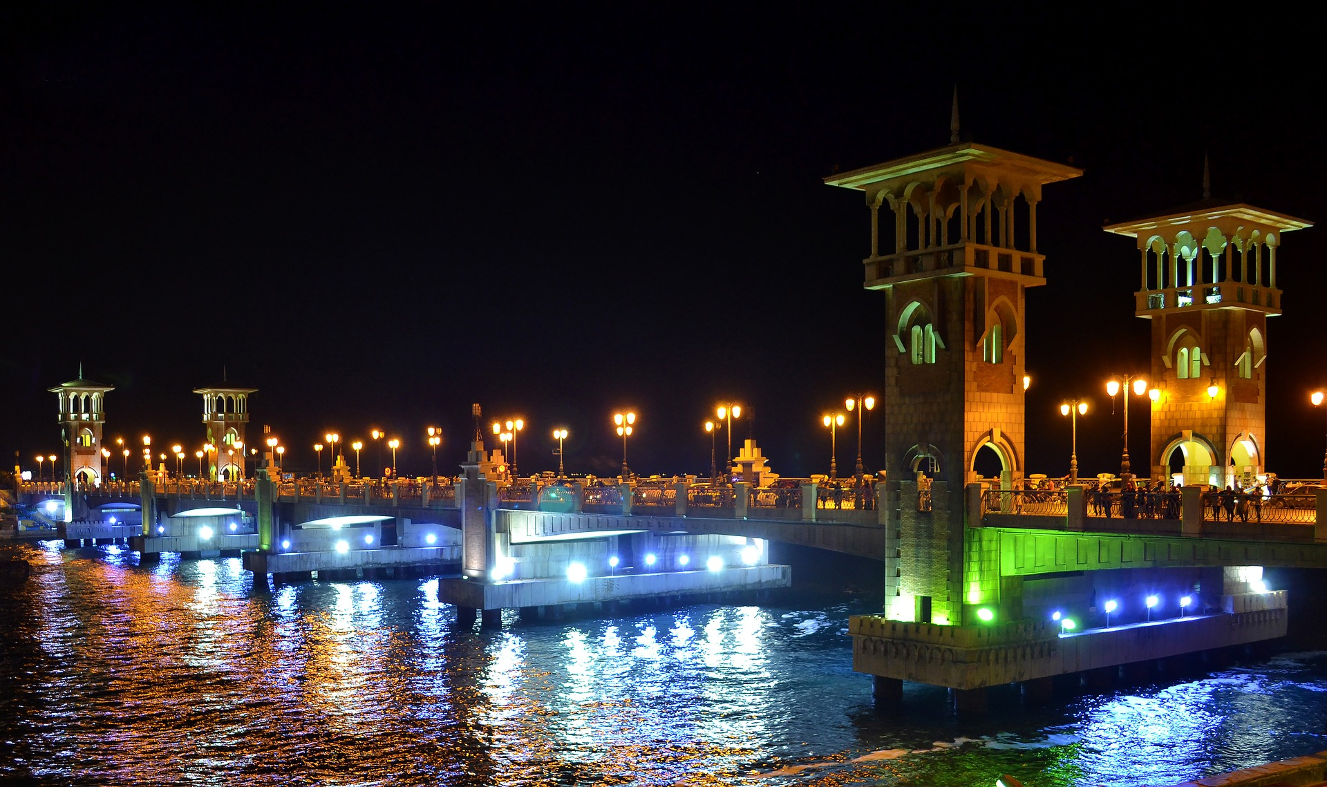 Stanley Bridge, Alexandria, Egypt