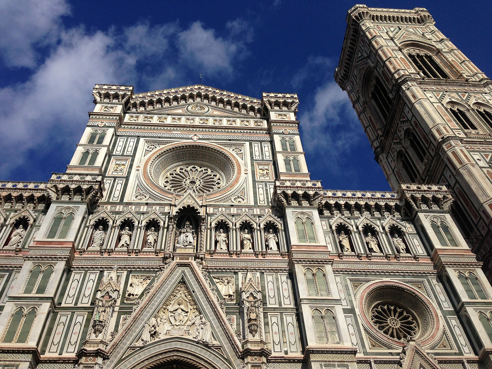 The Cattedrale di Santa Maria del Fiore is the main church of Florence, Italy