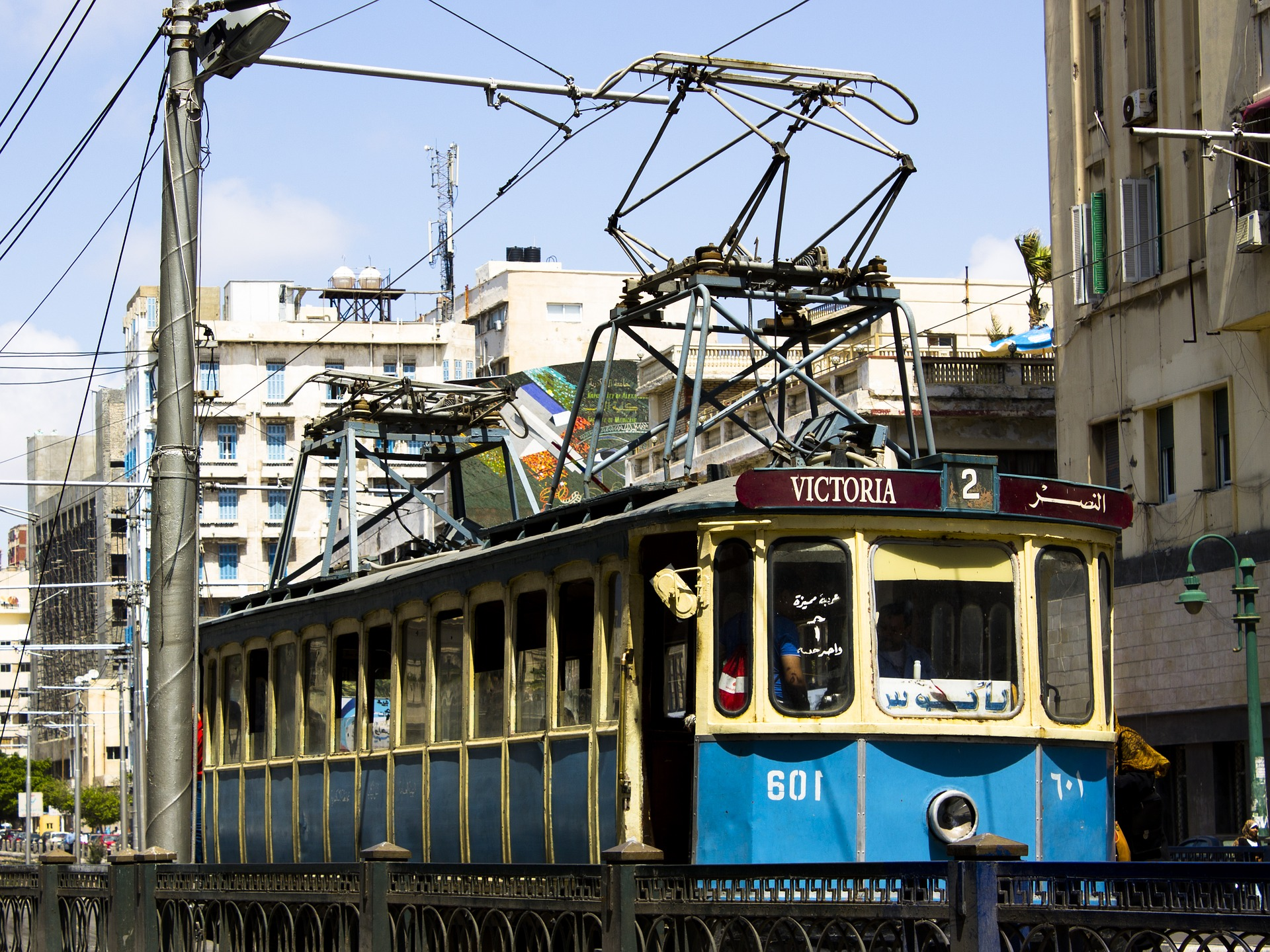 Tram in Alexandria, Egypt