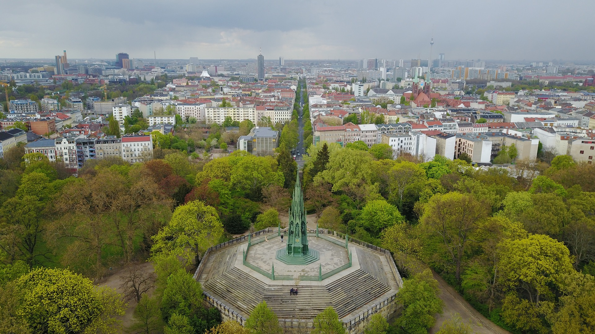 Viktoriapark, park in Berlin, Germany