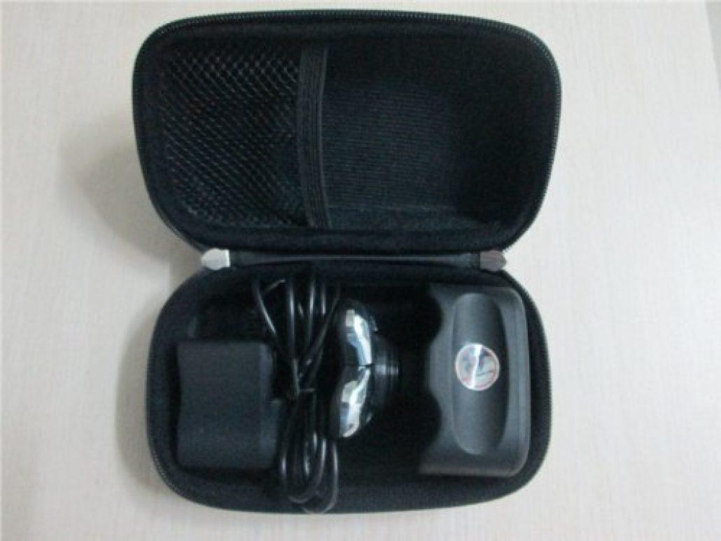 Skull Shaver kit in case