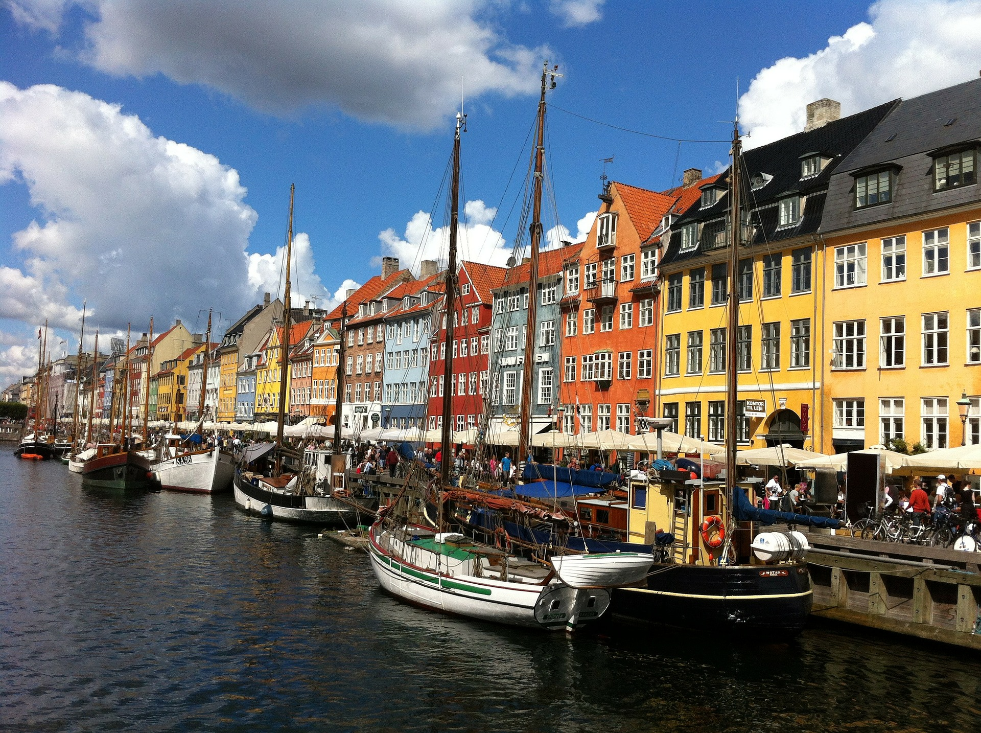 Canal, Copenhagen, Denmark