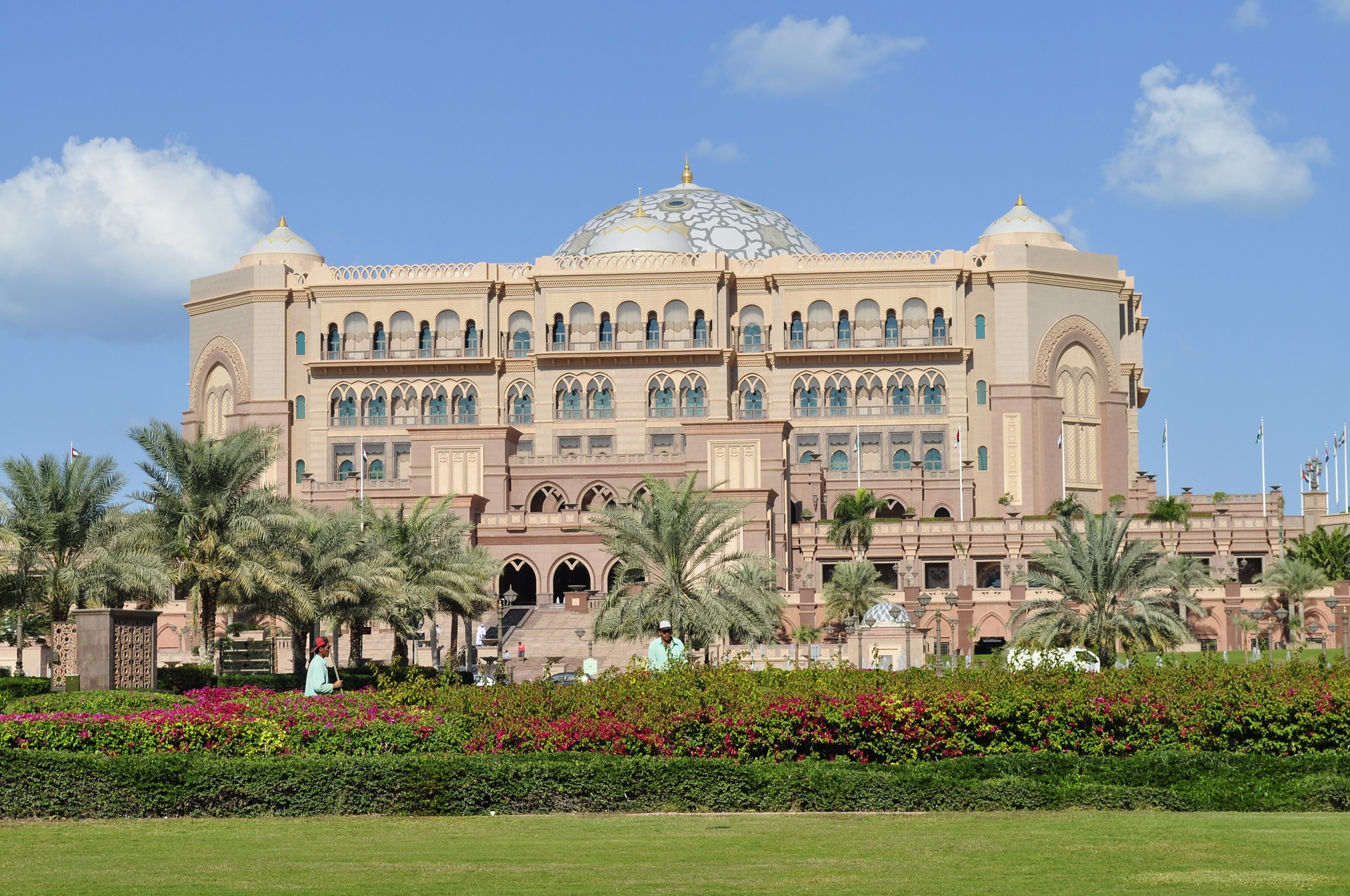 Emirates Palace Hotel l in Abu Dhabi, UAE