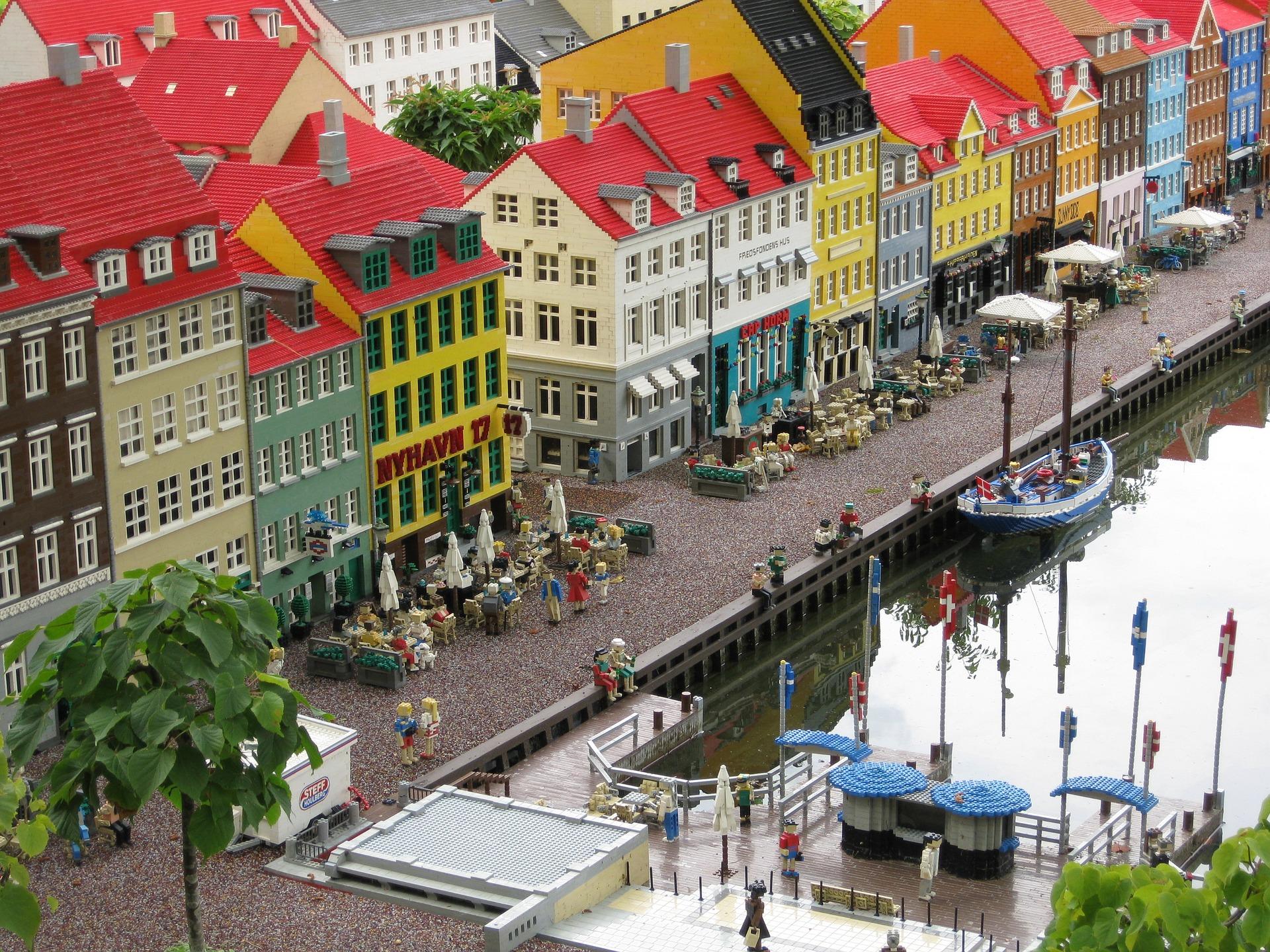 Nyhavn (New Harbour), Copenhagen, Denmark