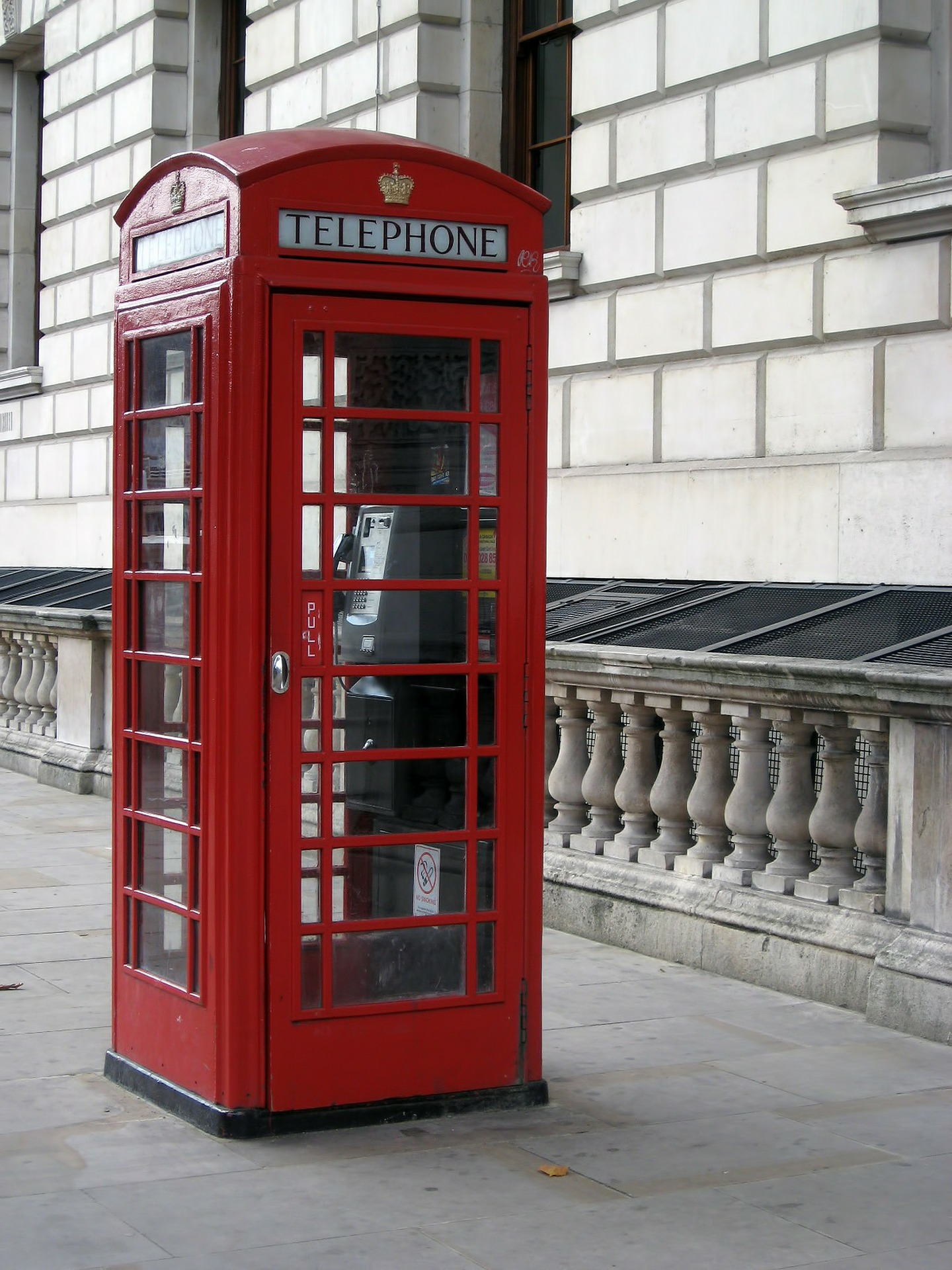 Red Phone Booth in London, UK